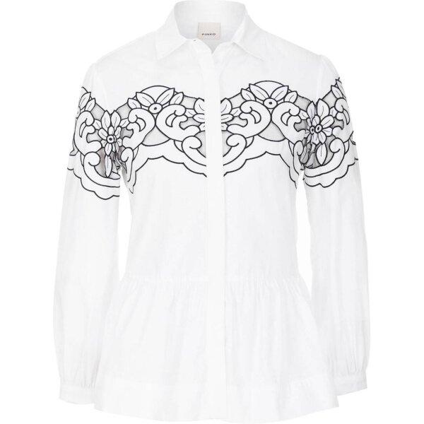 Accattivante Gomez plen Shirt White Pinko pqSAawH