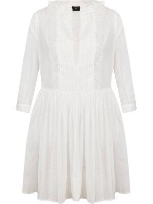 Elisabetta Franchi Sukienka | Loose fit | z dodatkiem jedwabiu