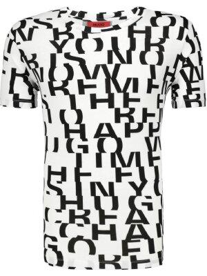 Hugo T-shirt Dyrics | Oversize fit