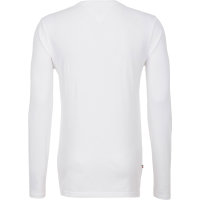 Longsleeve THDM Basic Henley Knit Hilfiger Denim biały