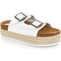 Simone slides Pepe Jeans London white
