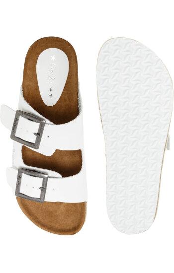 Klapki Simone Pepe Jeans London biały