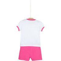 T-shirt + shorts Guess white
