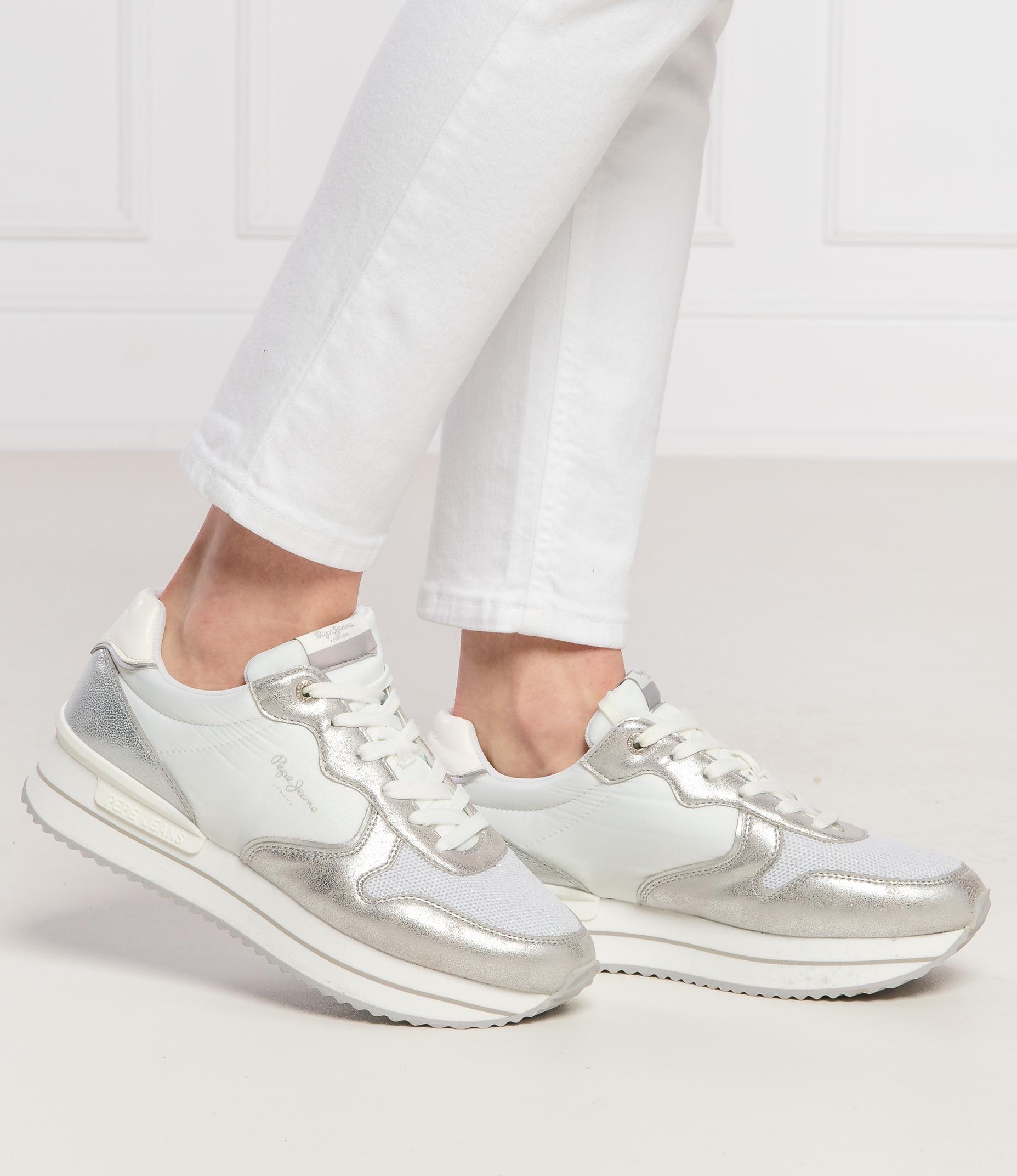Sneakers Rusper Rose Pepe Jeans London Silver Gomez Pl En
