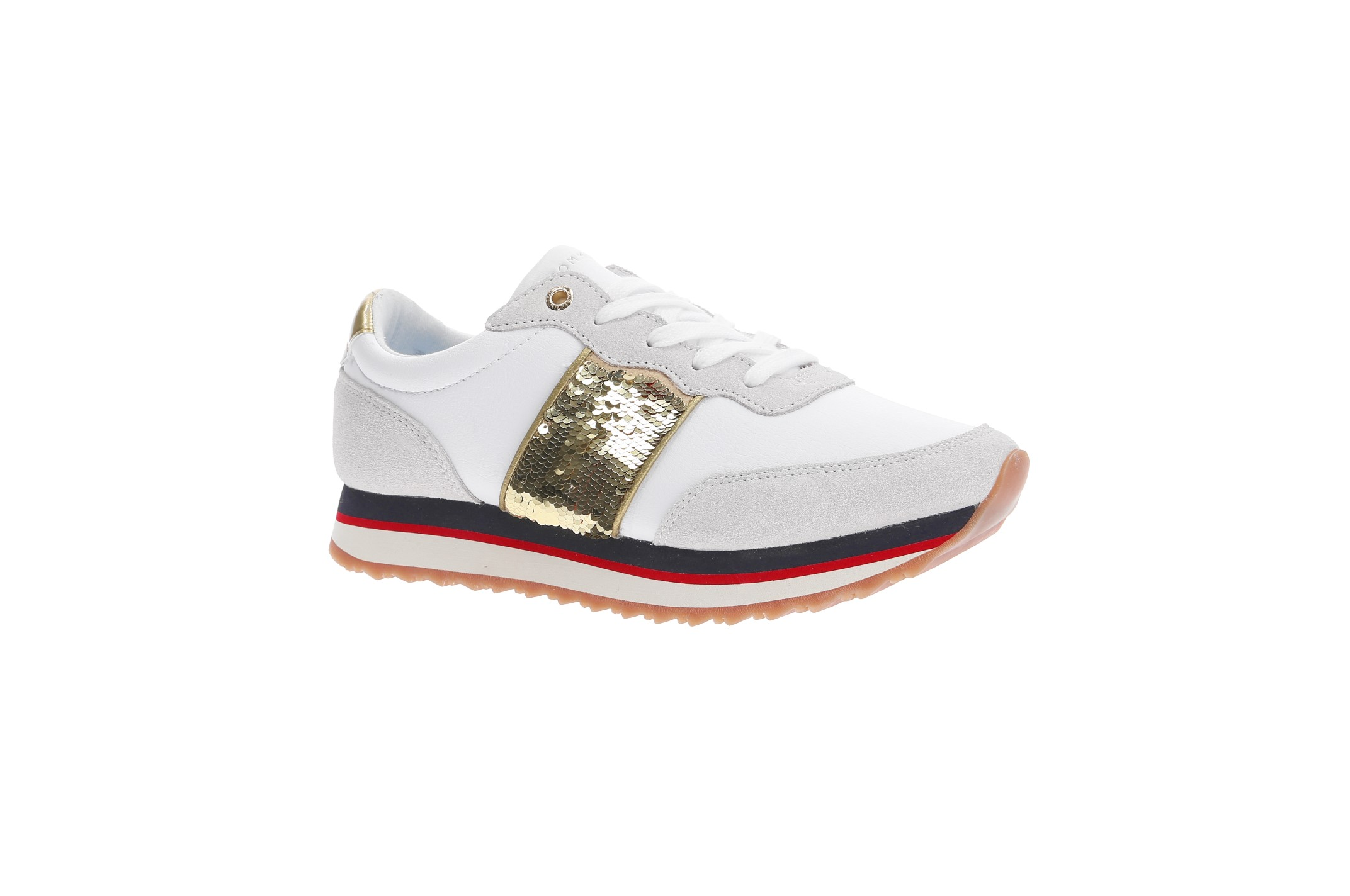 107aee88b88c3 Sneakers Tommy Sequins retro