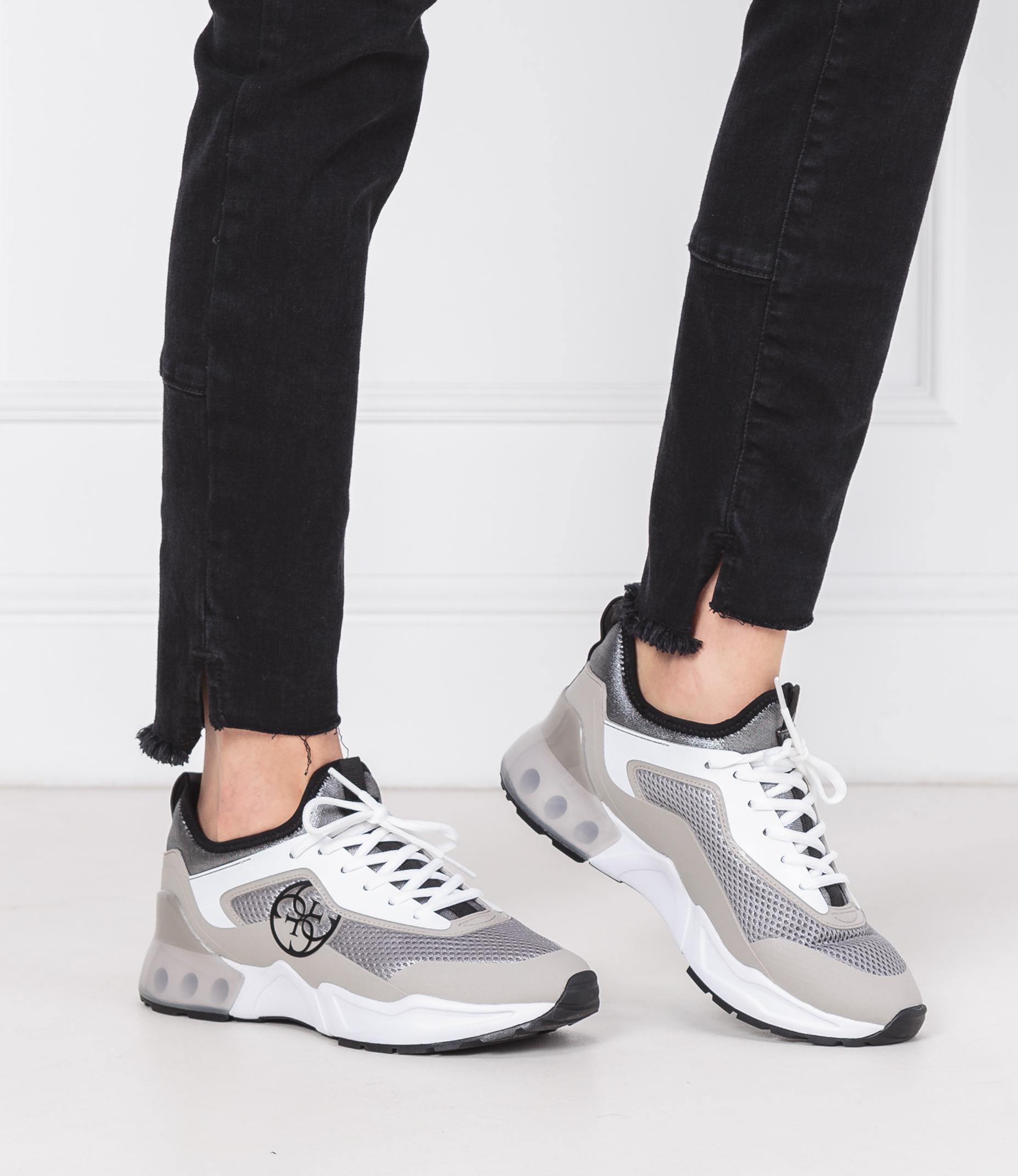 Sneakers TECKIE Guess | Gray | Gomez.pl/en
