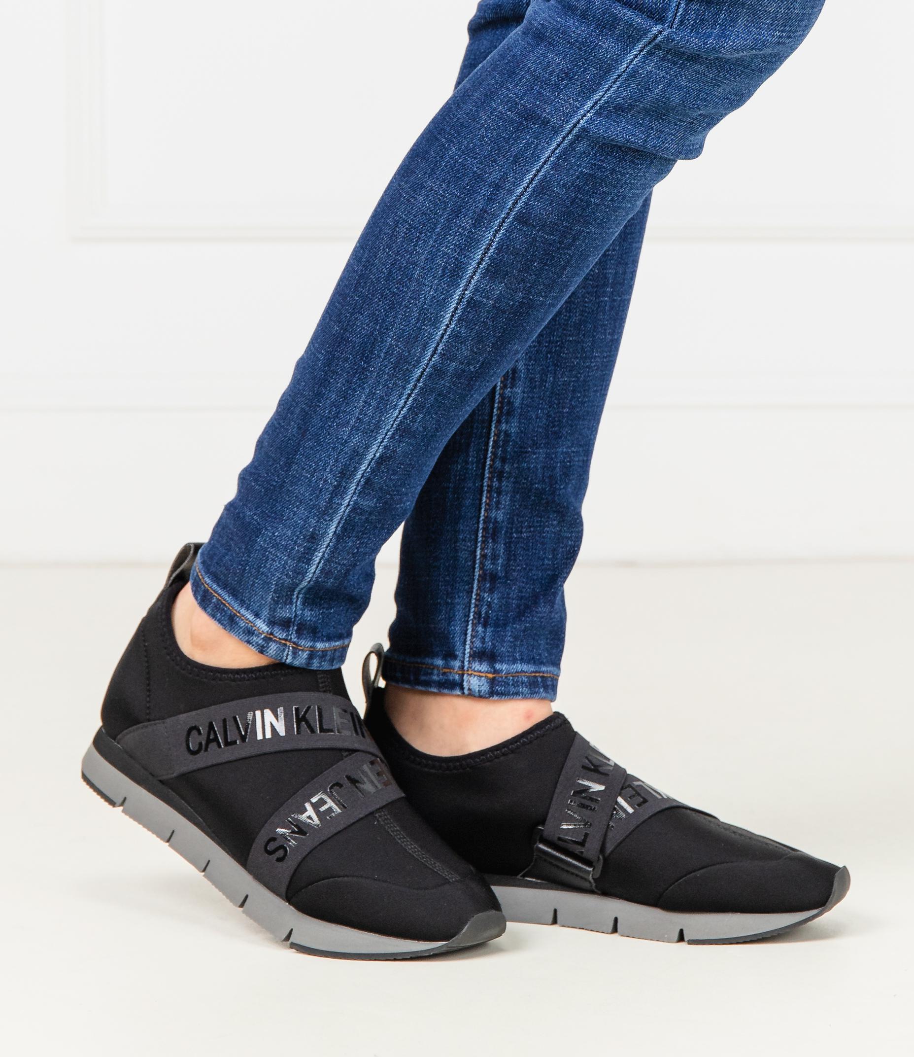 calvin klein black jeans tonia trainers