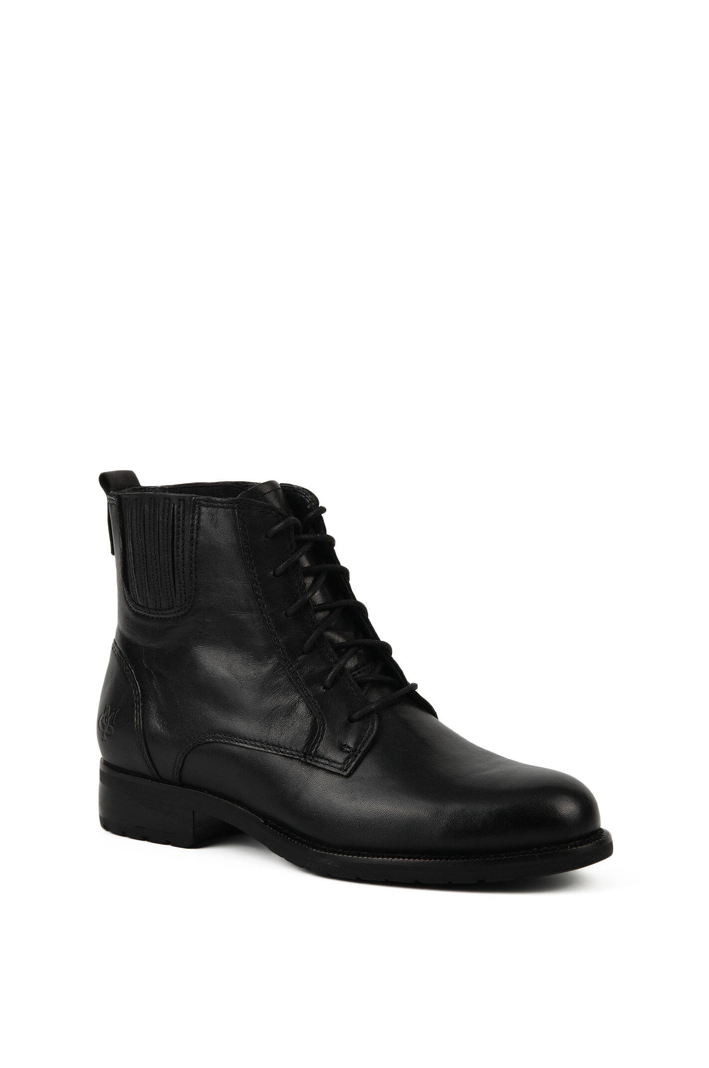 boots marc o 39 polo black ankle boots. Black Bedroom Furniture Sets. Home Design Ideas
