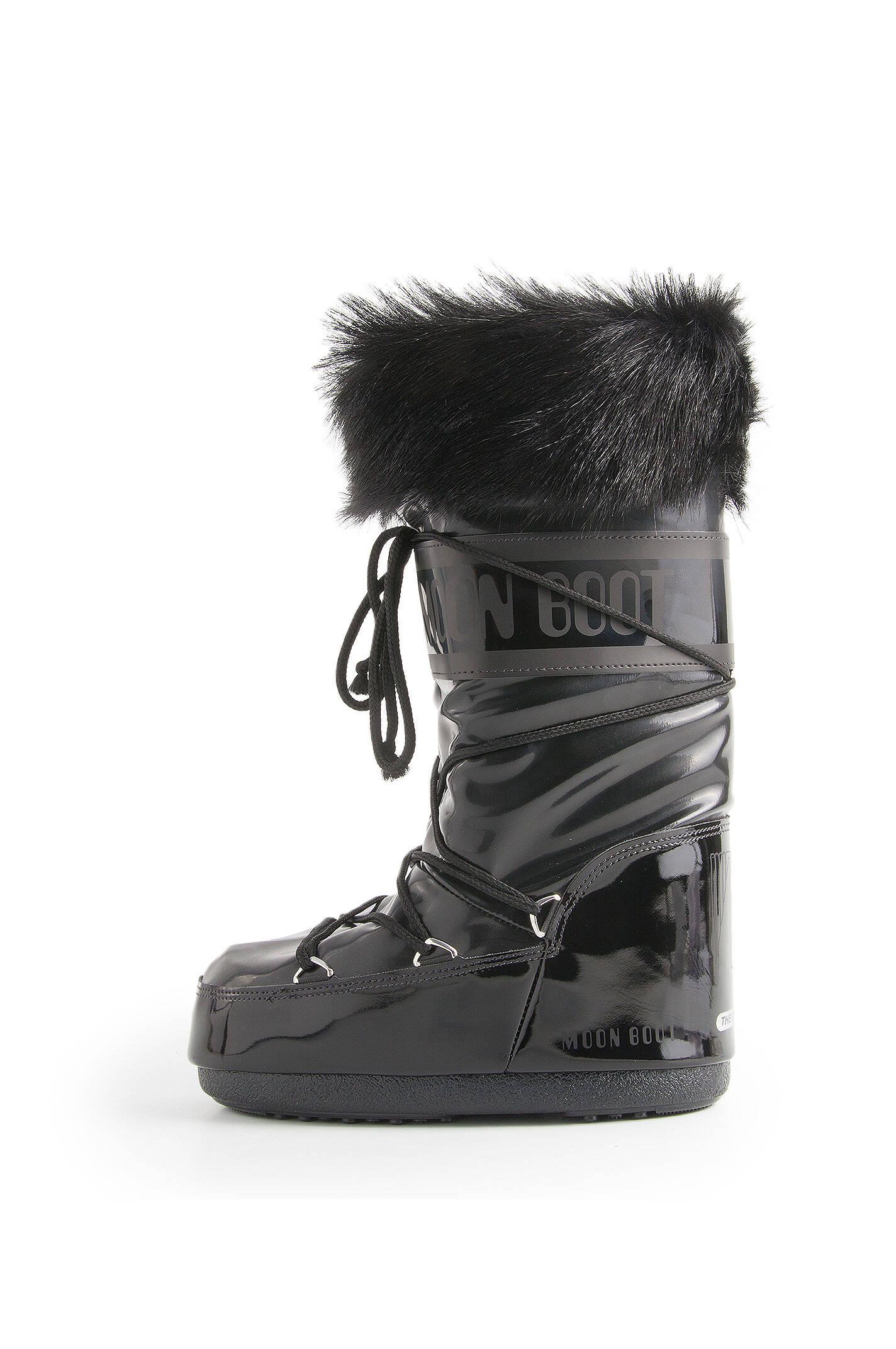 boot vail moonboots moon boot black boots gomez pl