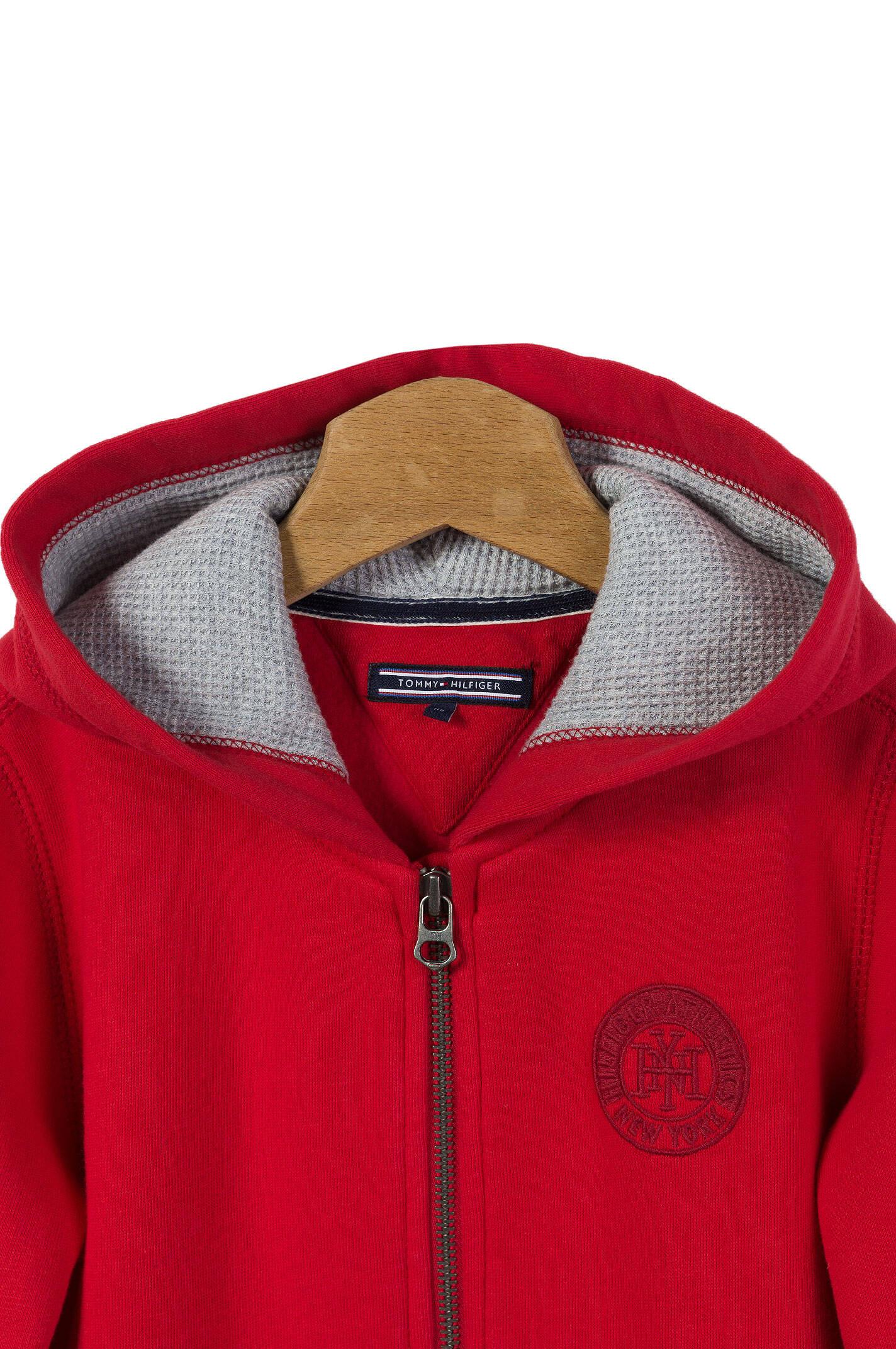 city sweatshirt tommy hilfiger red. Black Bedroom Furniture Sets. Home Design Ideas