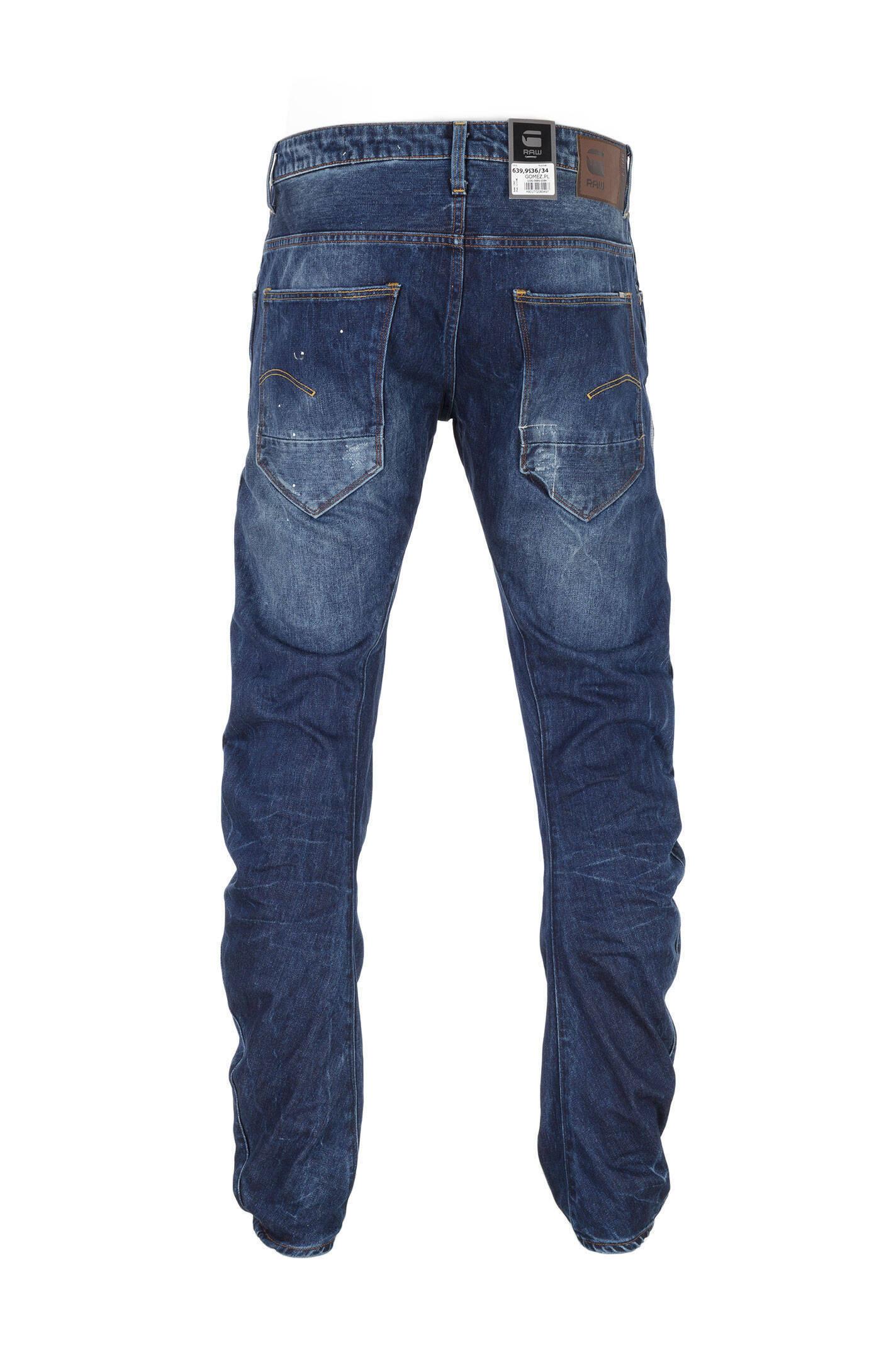 arc 3d slim jeans g star raw blue jeans pants. Black Bedroom Furniture Sets. Home Design Ideas