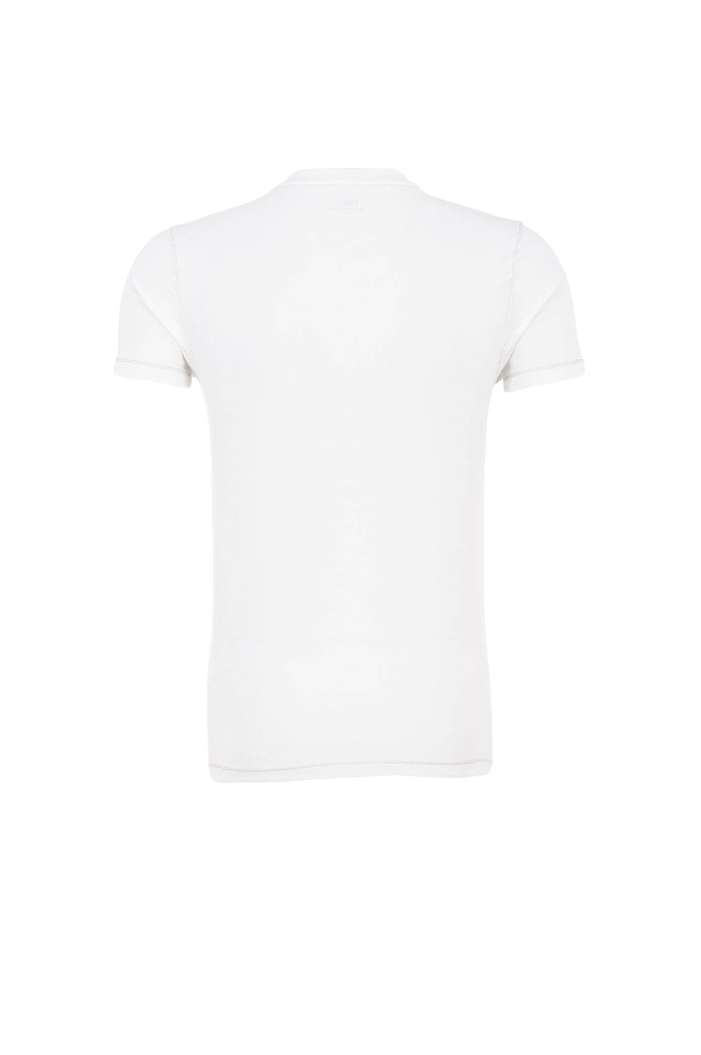 T shirt undershirt polo ralph lauren white for Polo shirt with undershirt