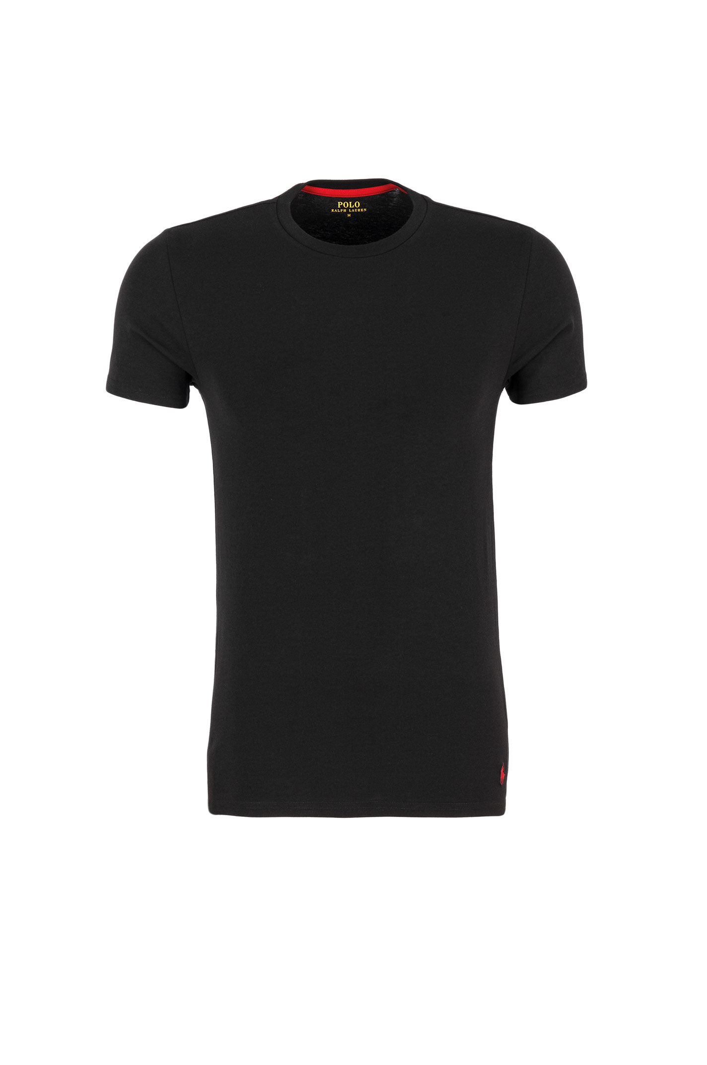 T shirt undershirt polo ralph lauren black for Polo shirt with undershirt