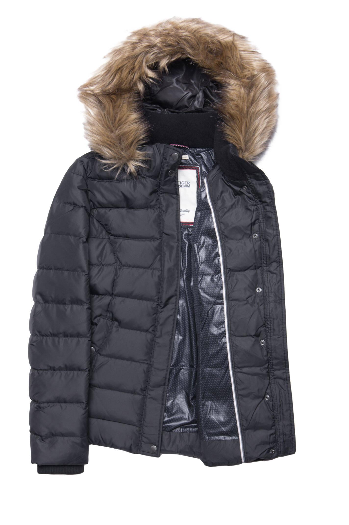 martina jacket hilfiger denim black apparel. Black Bedroom Furniture Sets. Home Design Ideas