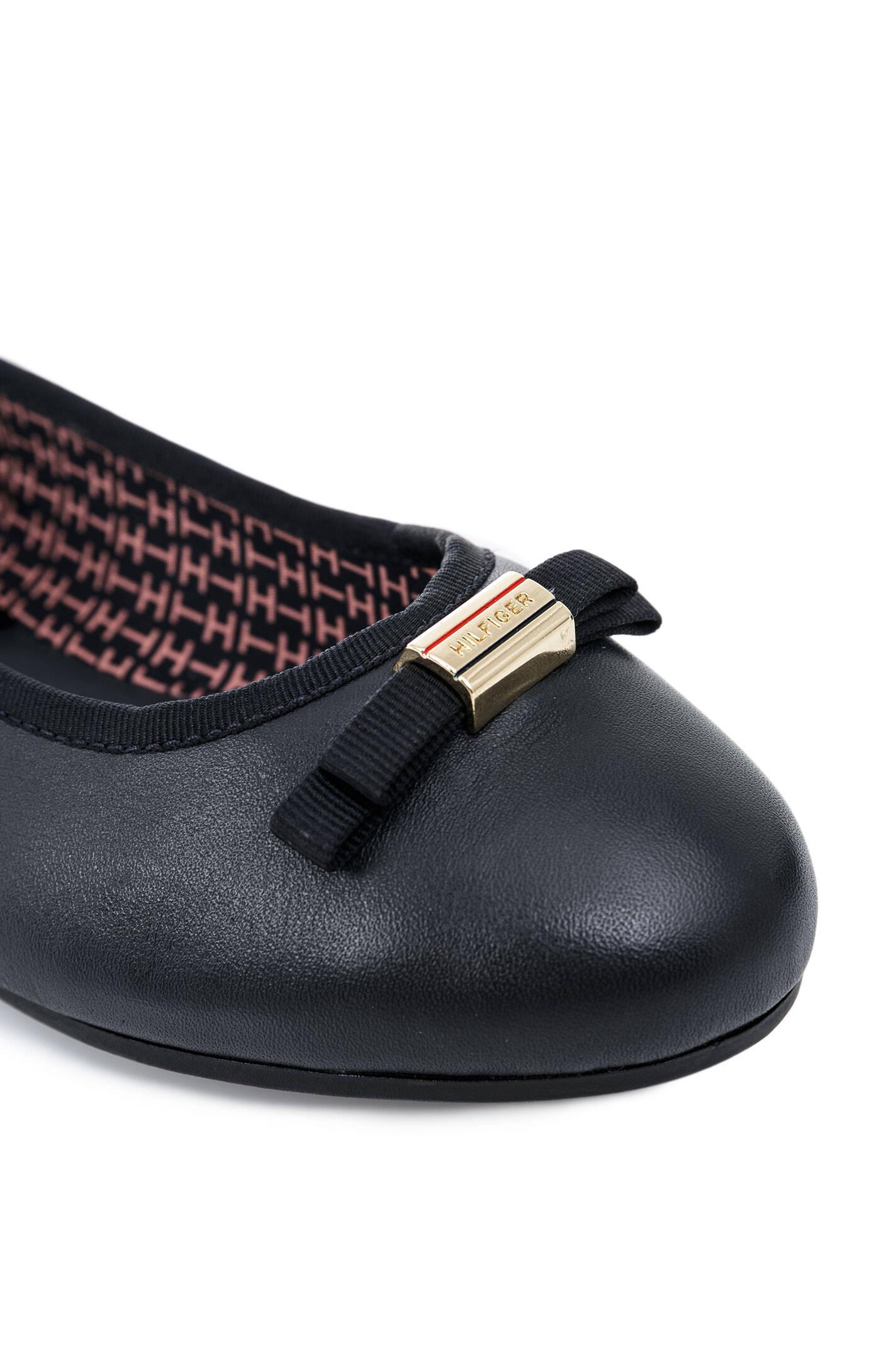 amy 37a ballerinas tommy hilfiger navy blue shoes. Black Bedroom Furniture Sets. Home Design Ideas