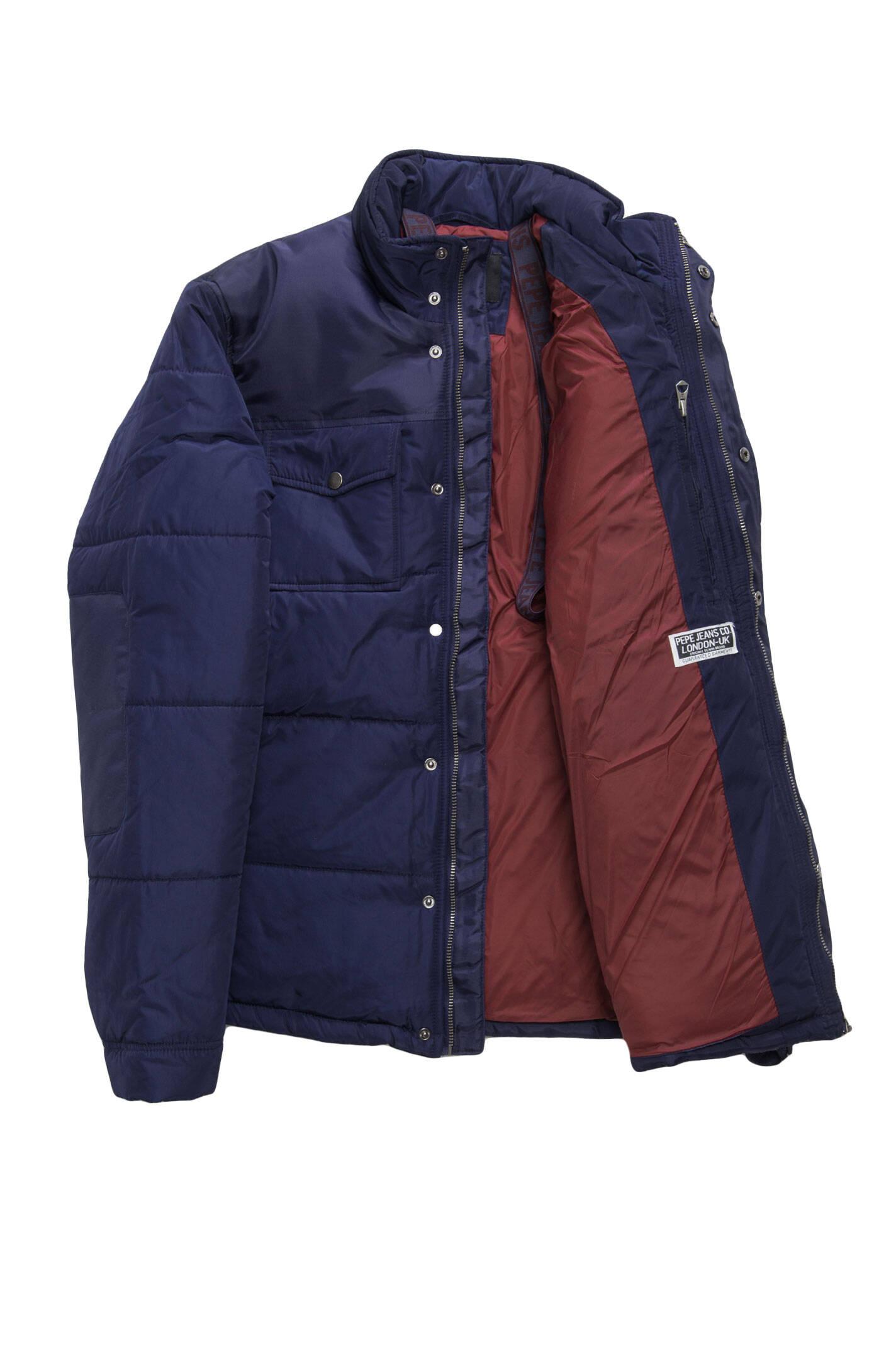kimble jacket pepe jeans london navy blue. Black Bedroom Furniture Sets. Home Design Ideas