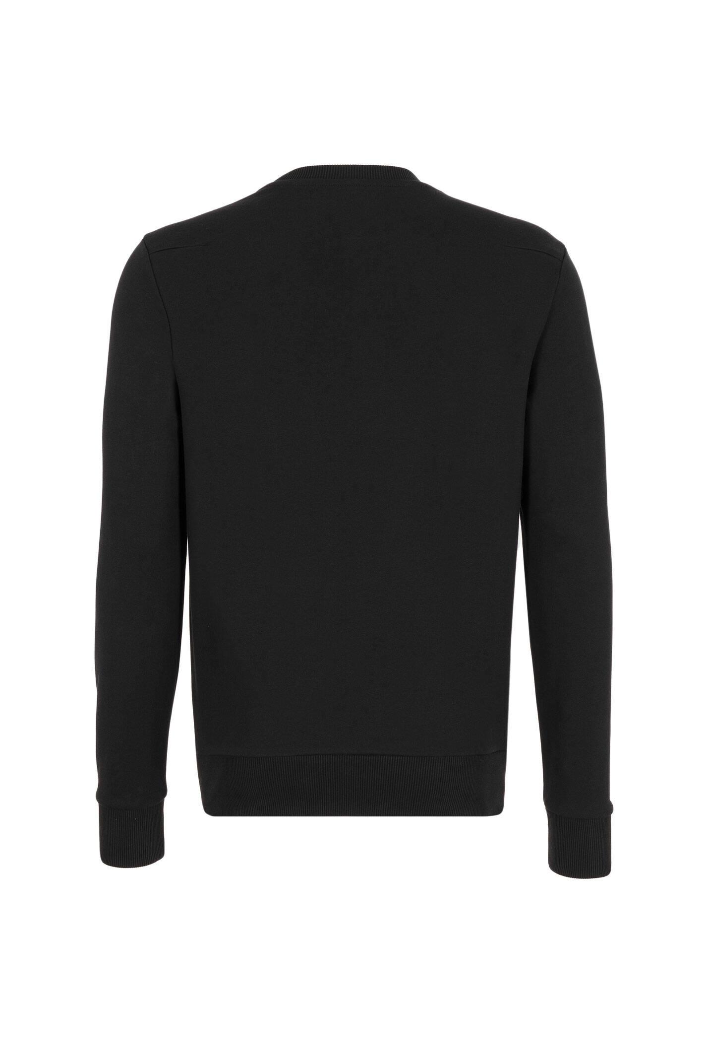 jerom unisex sweatshirt calvin klein jeans black. Black Bedroom Furniture Sets. Home Design Ideas