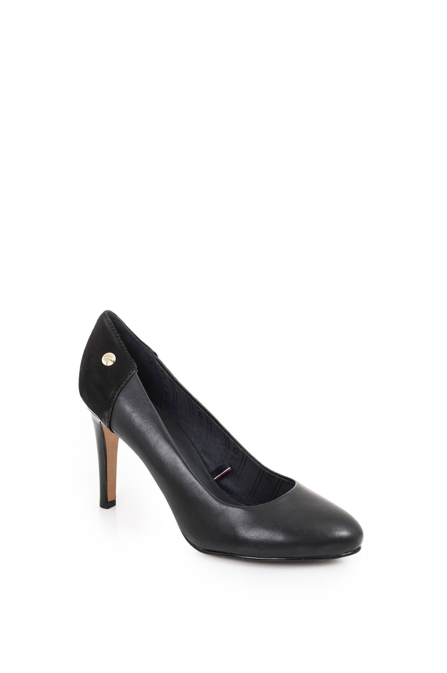 layla 14c pumps tommy hilfiger black high heels. Black Bedroom Furniture Sets. Home Design Ideas