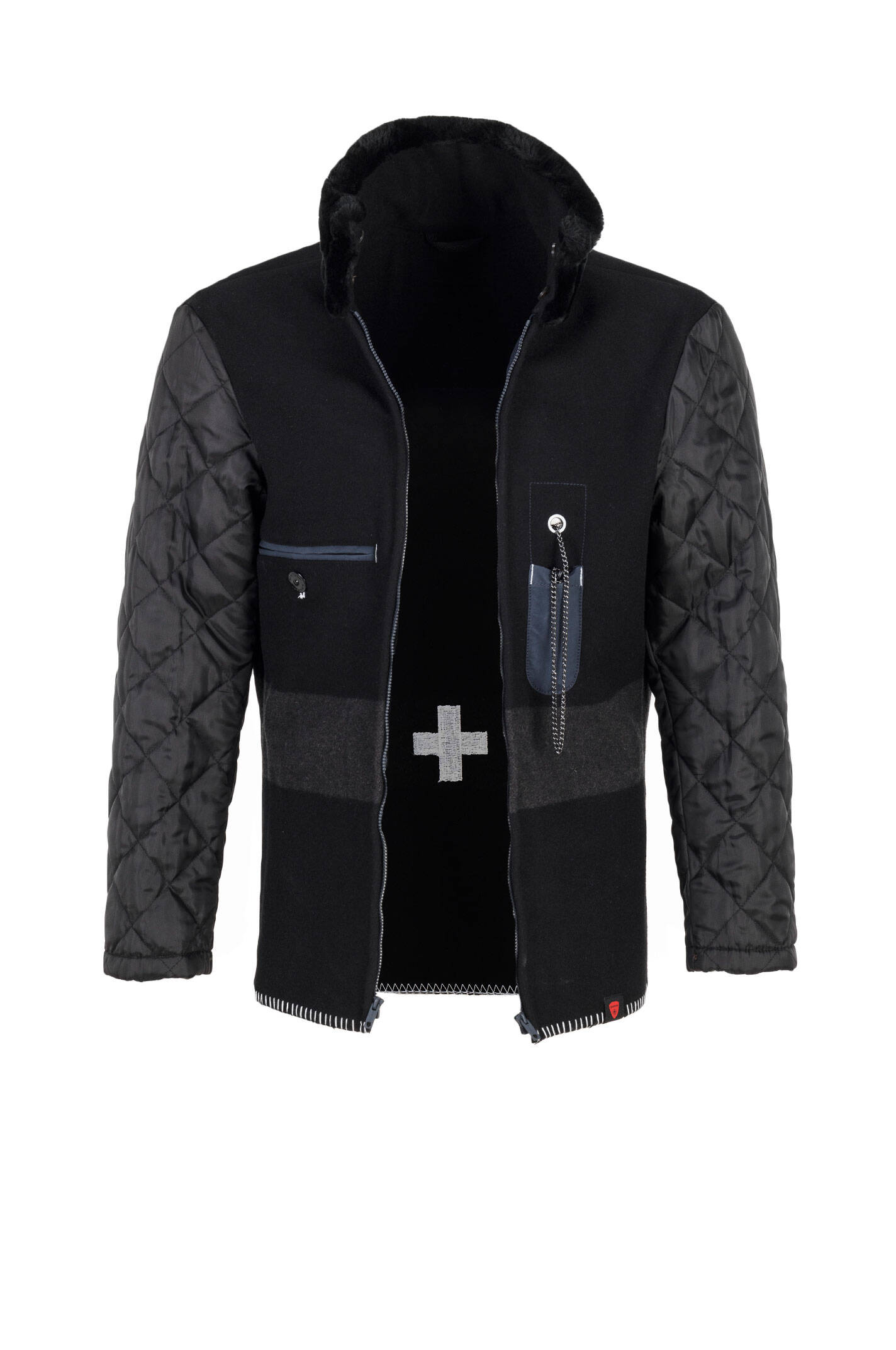 s c squad w jacket strellson navy blue outerwear. Black Bedroom Furniture Sets. Home Design Ideas
