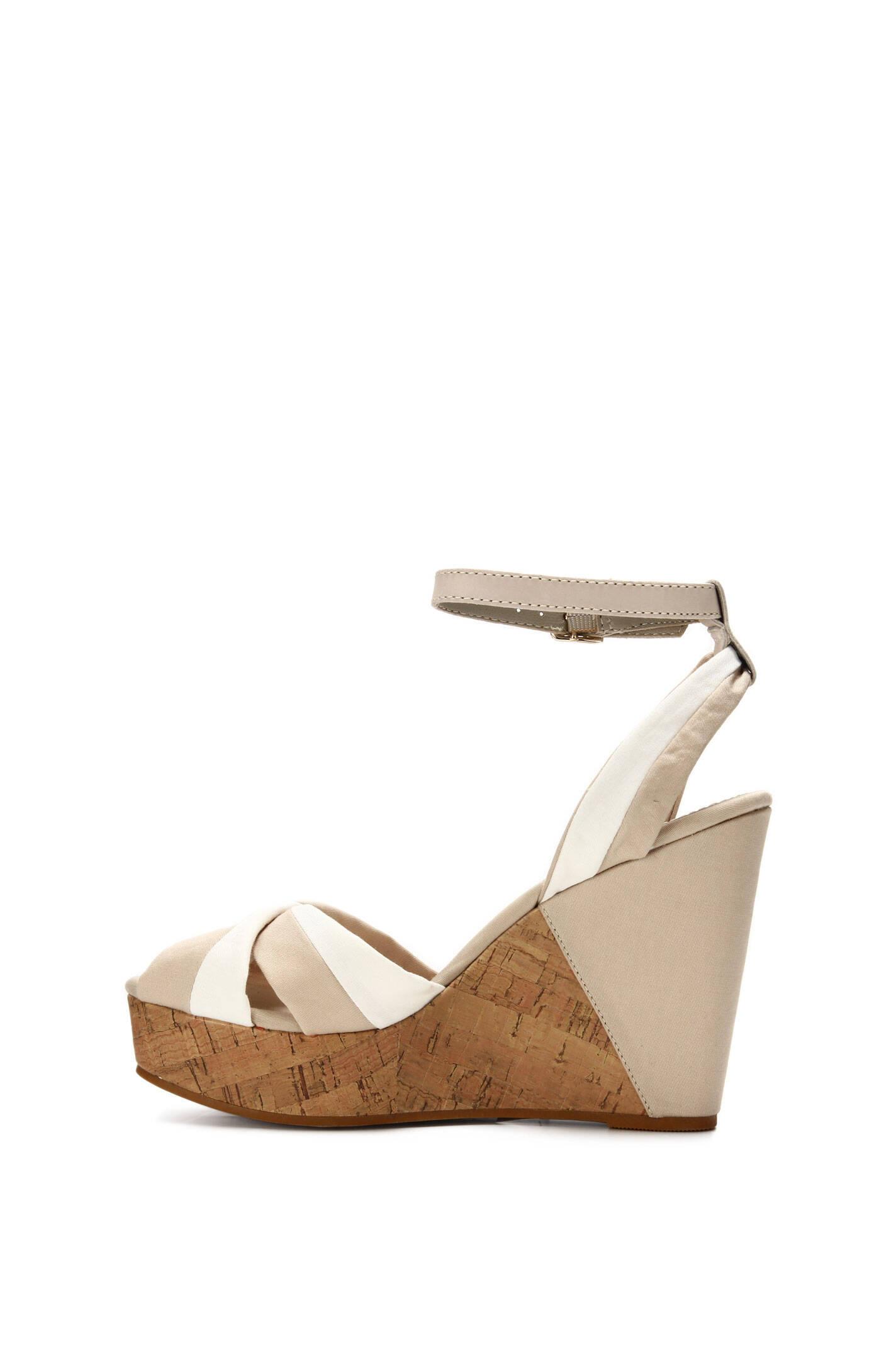 estelle 16d wedges tommy hilfiger beige shoes. Black Bedroom Furniture Sets. Home Design Ideas