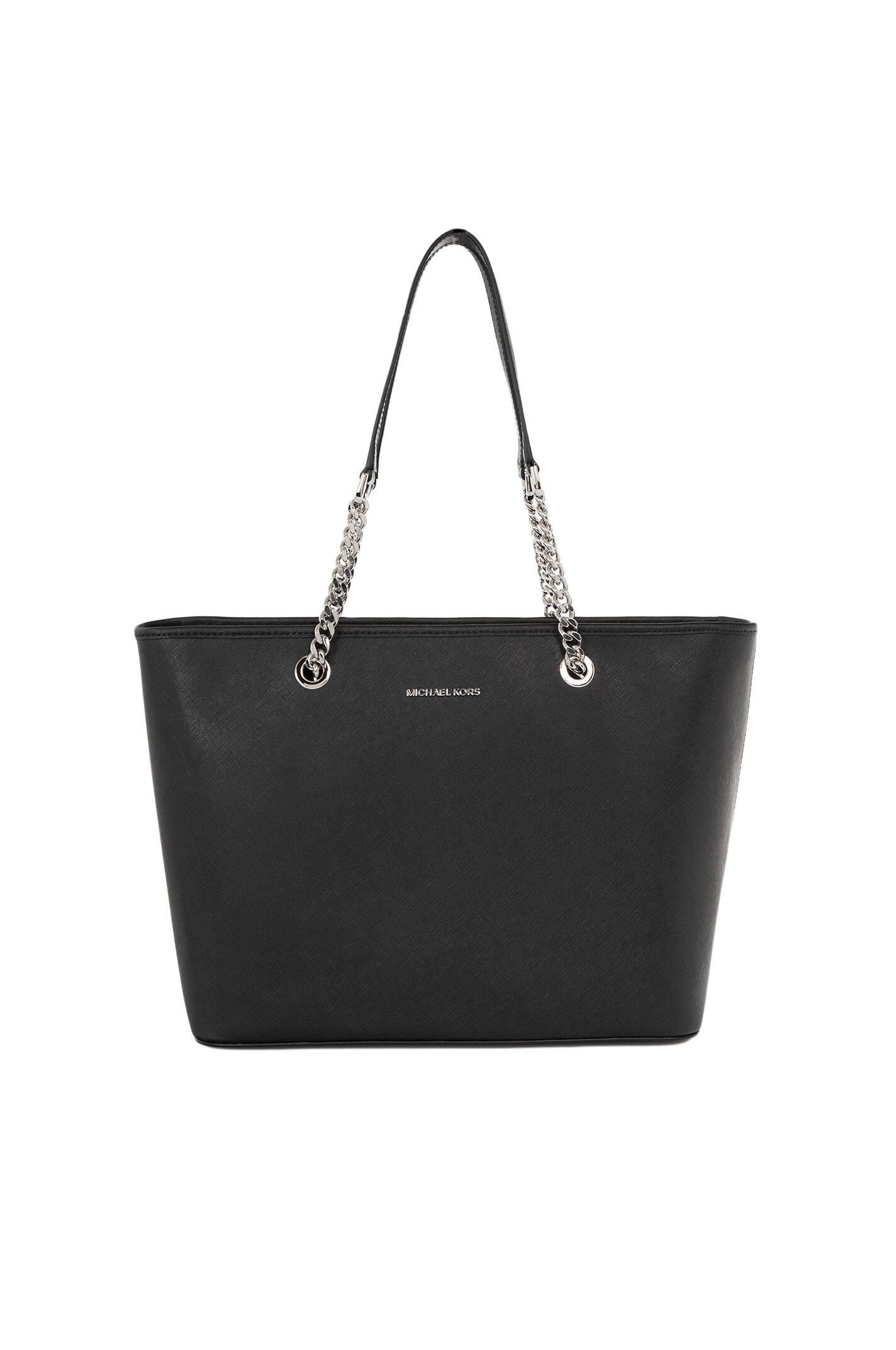 jet set item shopper bag michael kors black bags. Black Bedroom Furniture Sets. Home Design Ideas