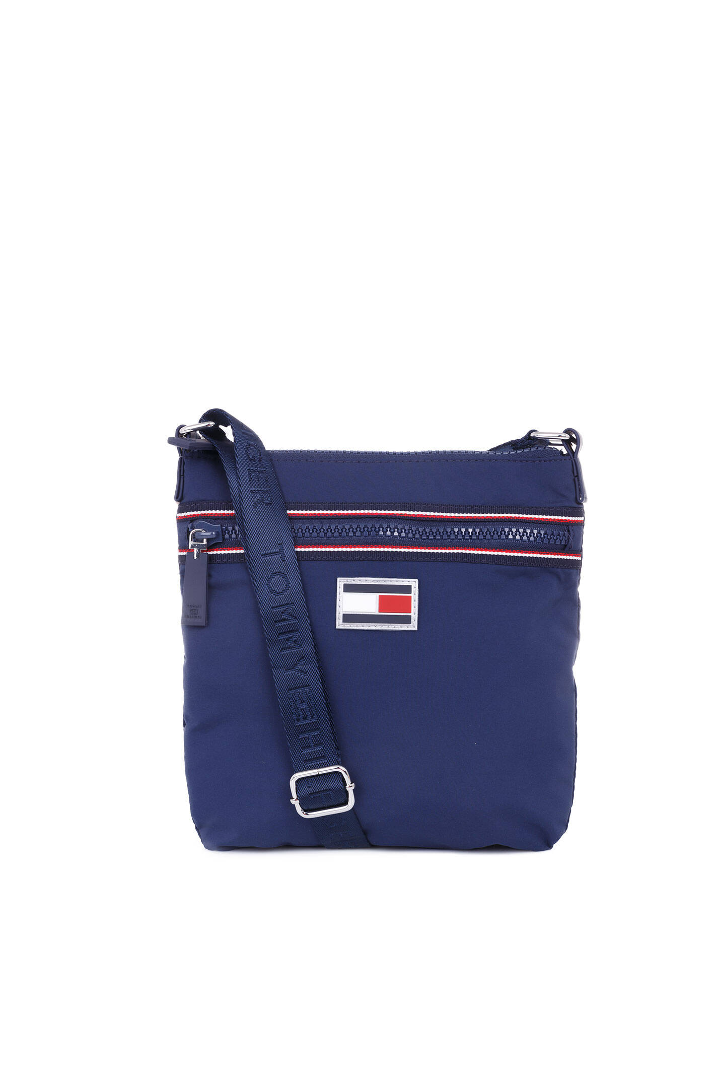 Athletic messenger bag Tommy Hilfiger - Navy blue - bags - Gomez.pl