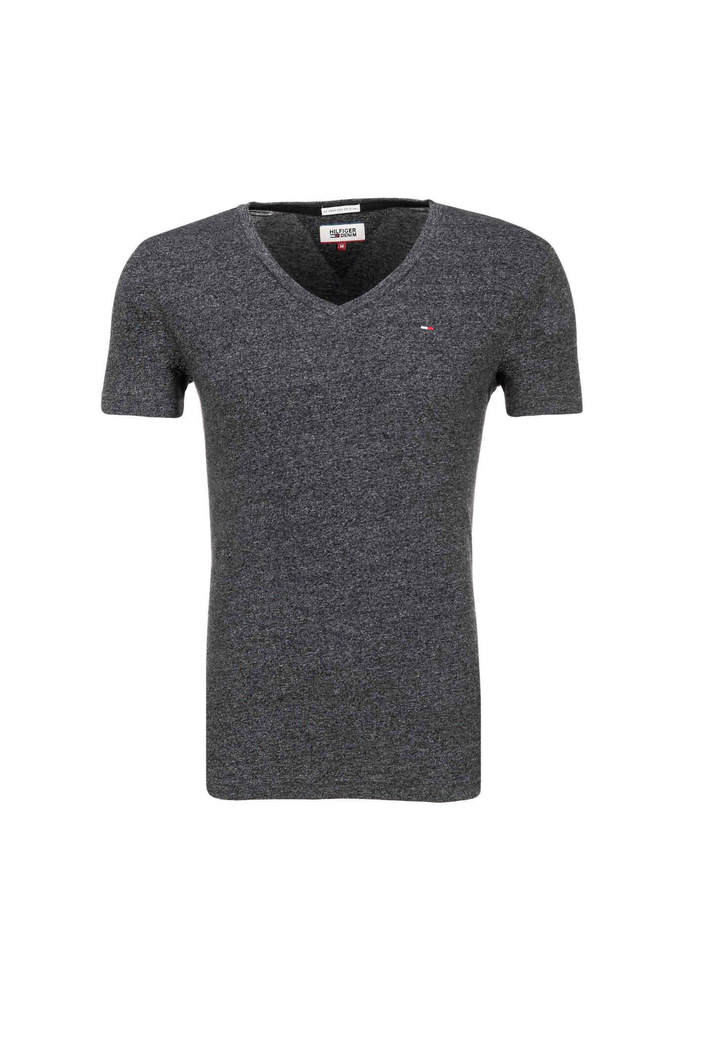 shirt hilfiger denim charcoal t shirts. Black Bedroom Furniture Sets. Home Design Ideas