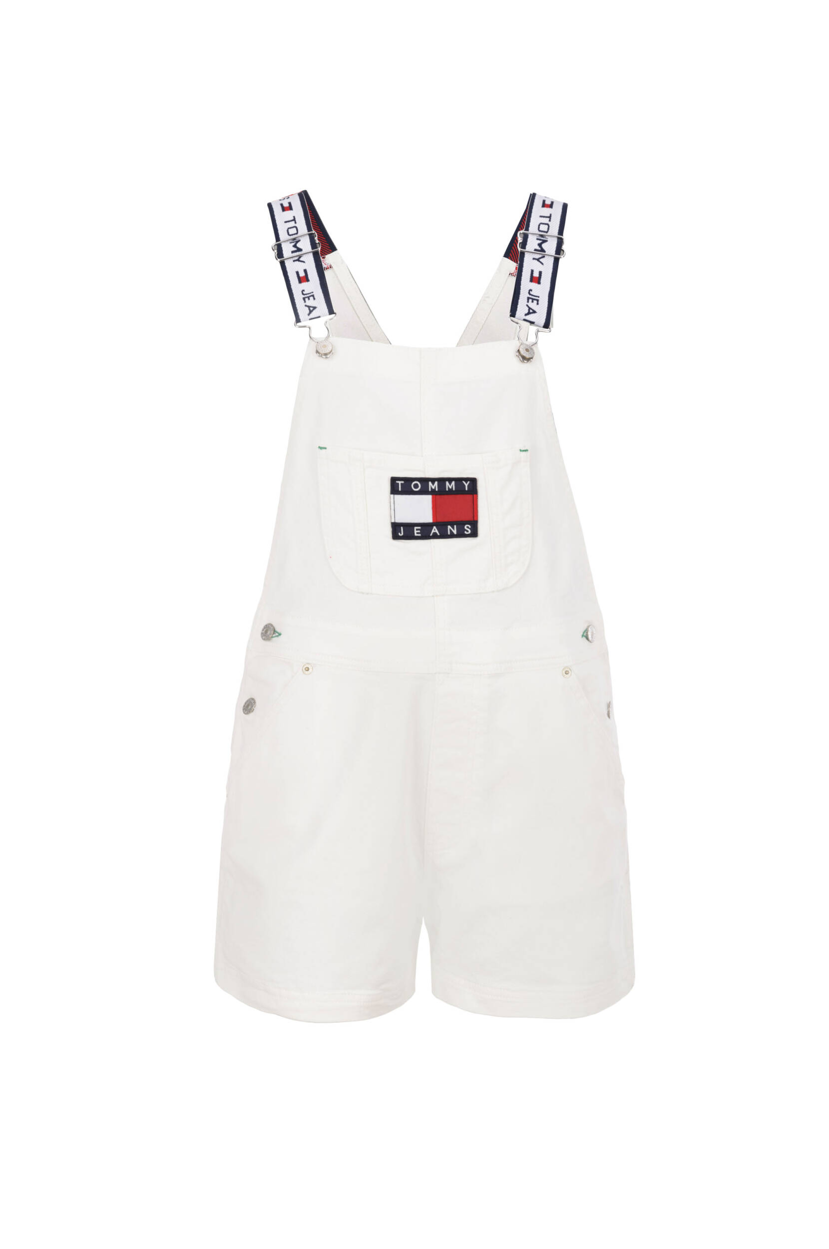 Tommy Jeans Dungarees Hilfiger Denim White