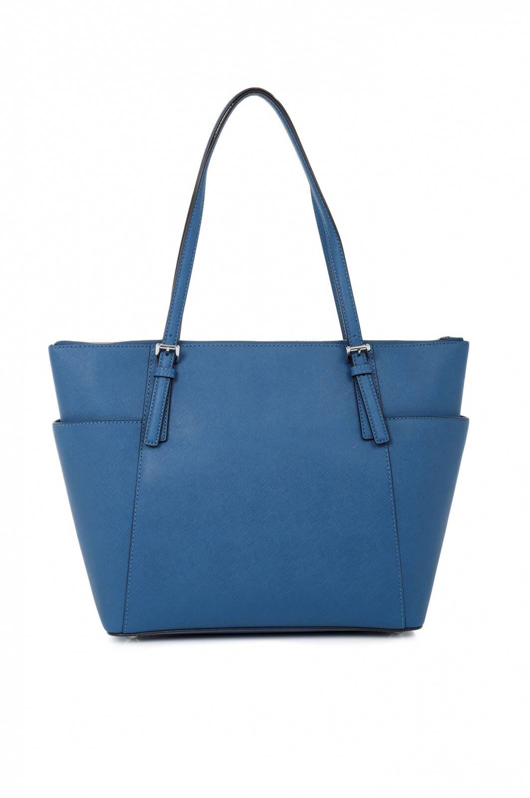 jet set item shopper bag michael kors blue bags. Black Bedroom Furniture Sets. Home Design Ideas