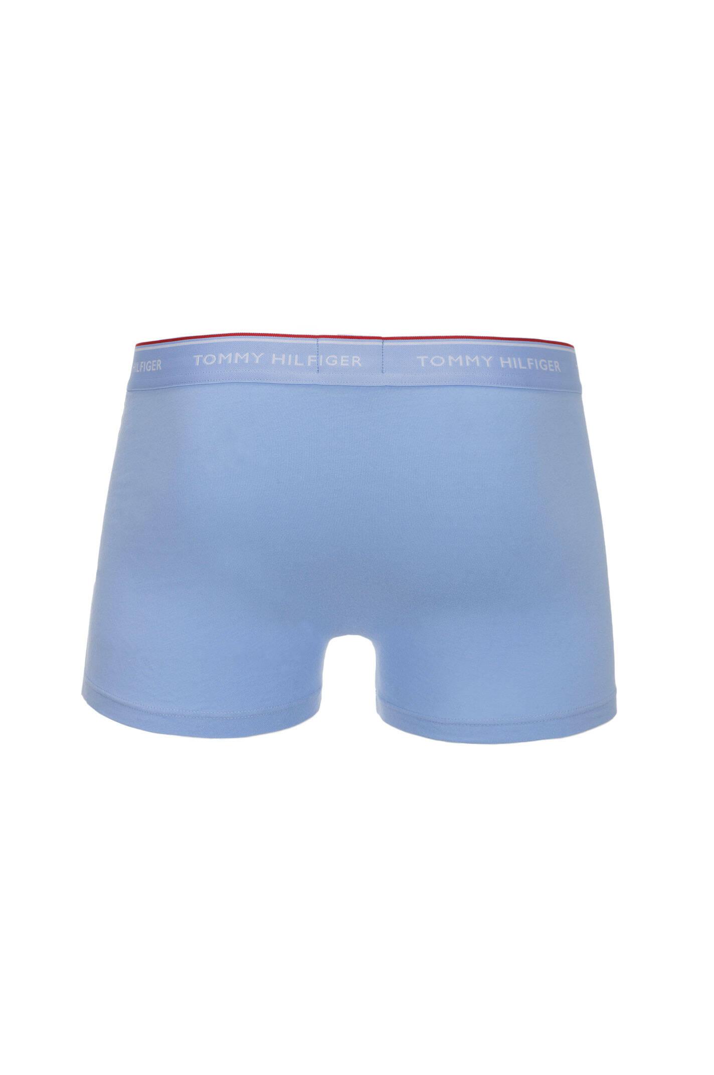 premium essentials 3 pack boxer shorts tommy hilfiger baby blue underwear. Black Bedroom Furniture Sets. Home Design Ideas