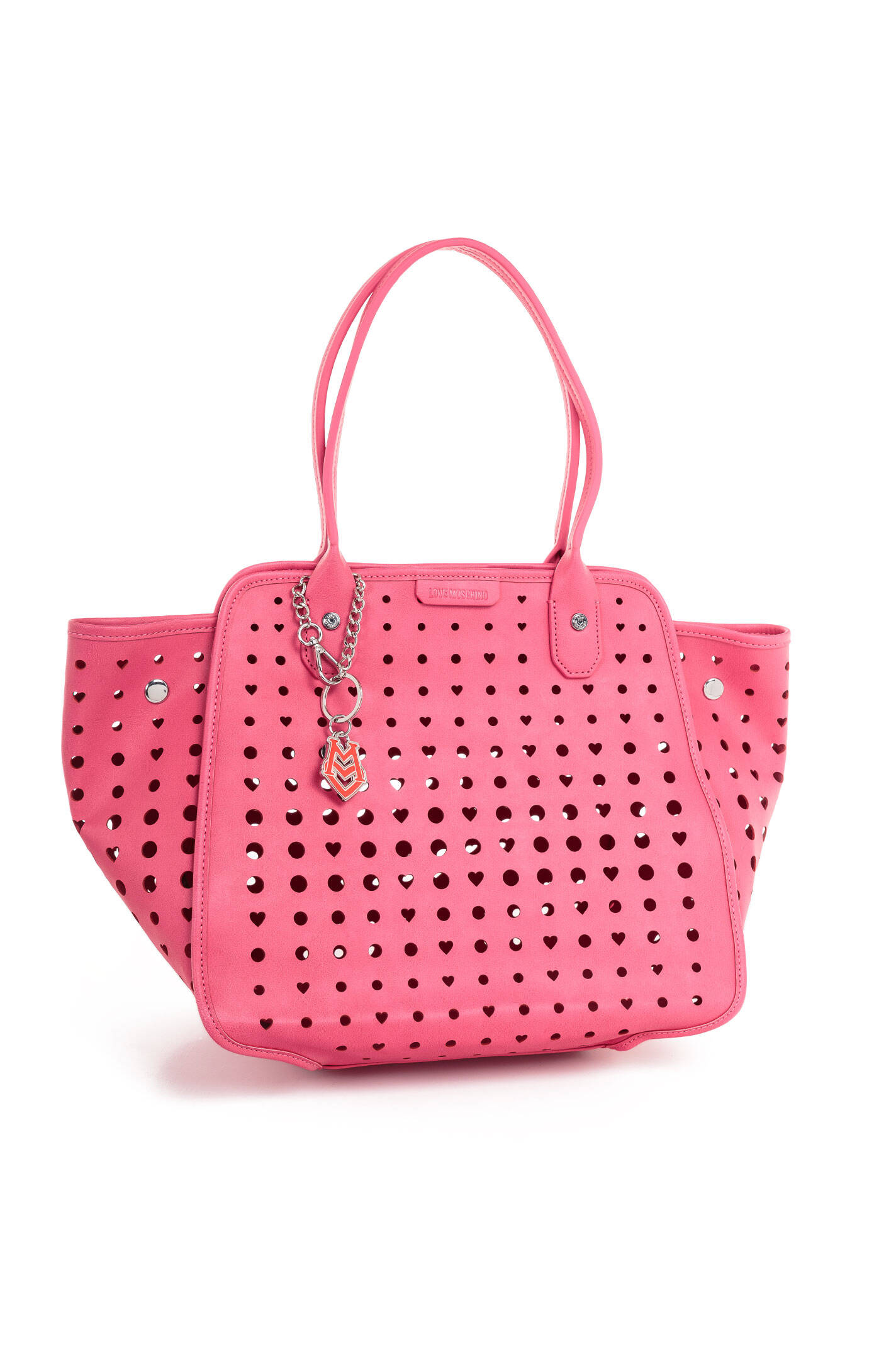 shopper bag love moschino pink bags. Black Bedroom Furniture Sets. Home Design Ideas