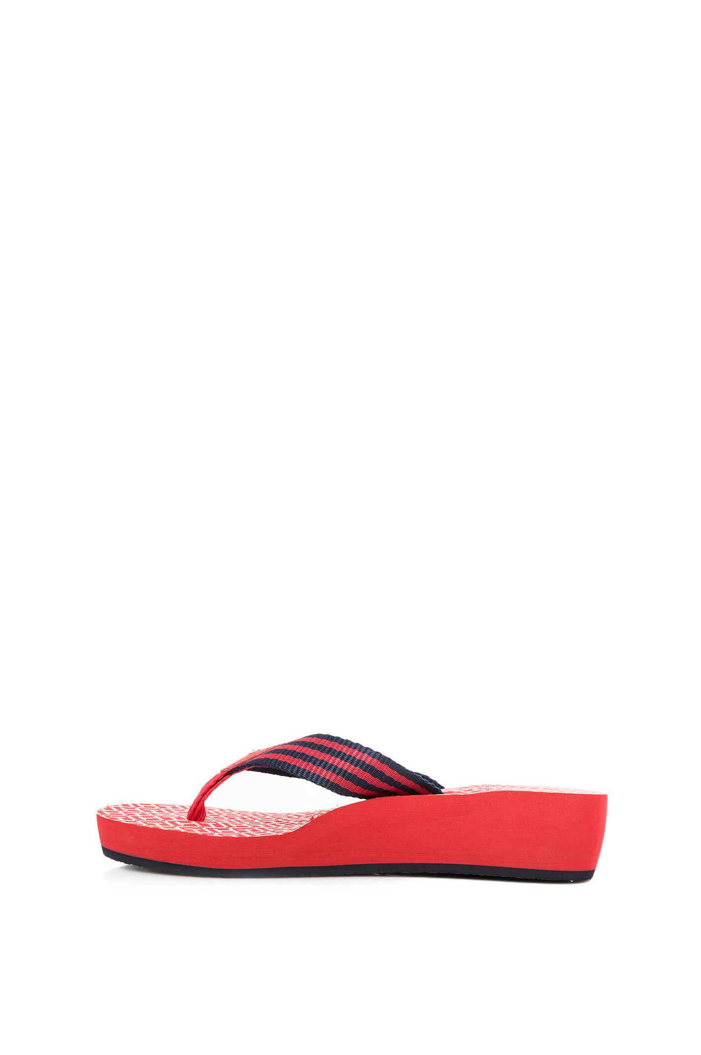 flip flops tommy hilfiger red shoes. Black Bedroom Furniture Sets. Home Design Ideas