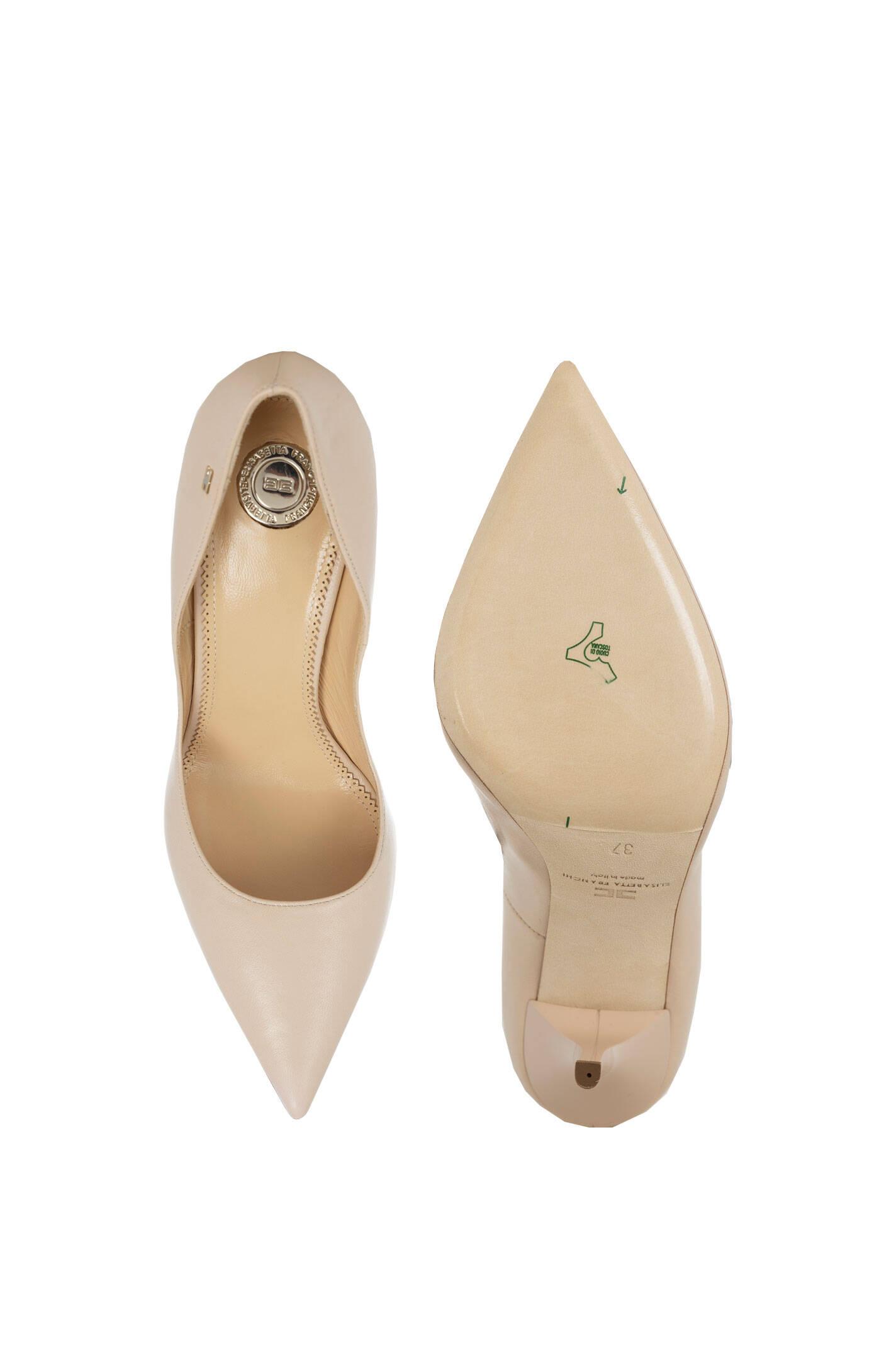 high heels elisabetta franchi beige heels. Black Bedroom Furniture Sets. Home Design Ideas