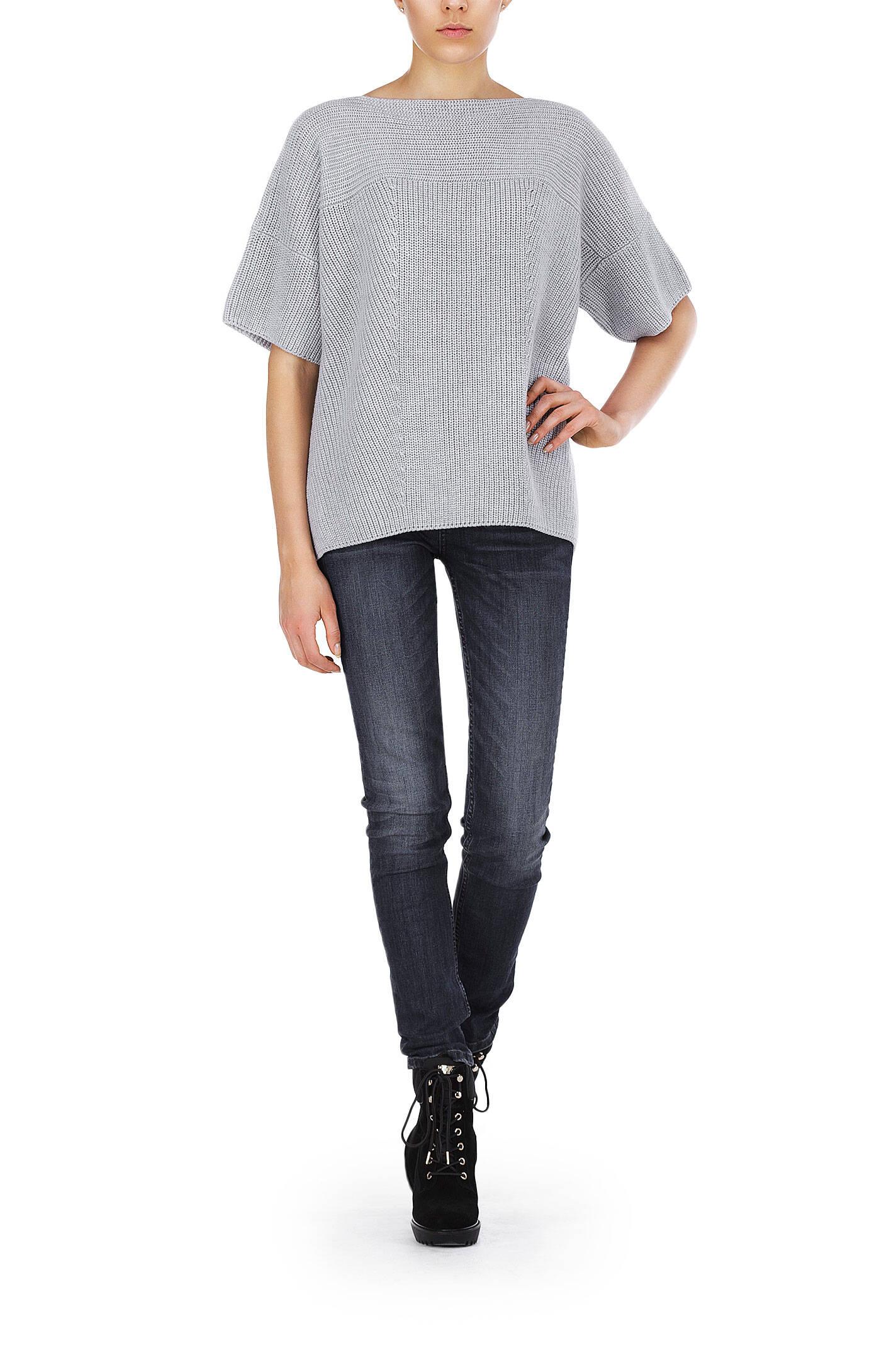 poggio sweater weekend max mara gray. Black Bedroom Furniture Sets. Home Design Ideas