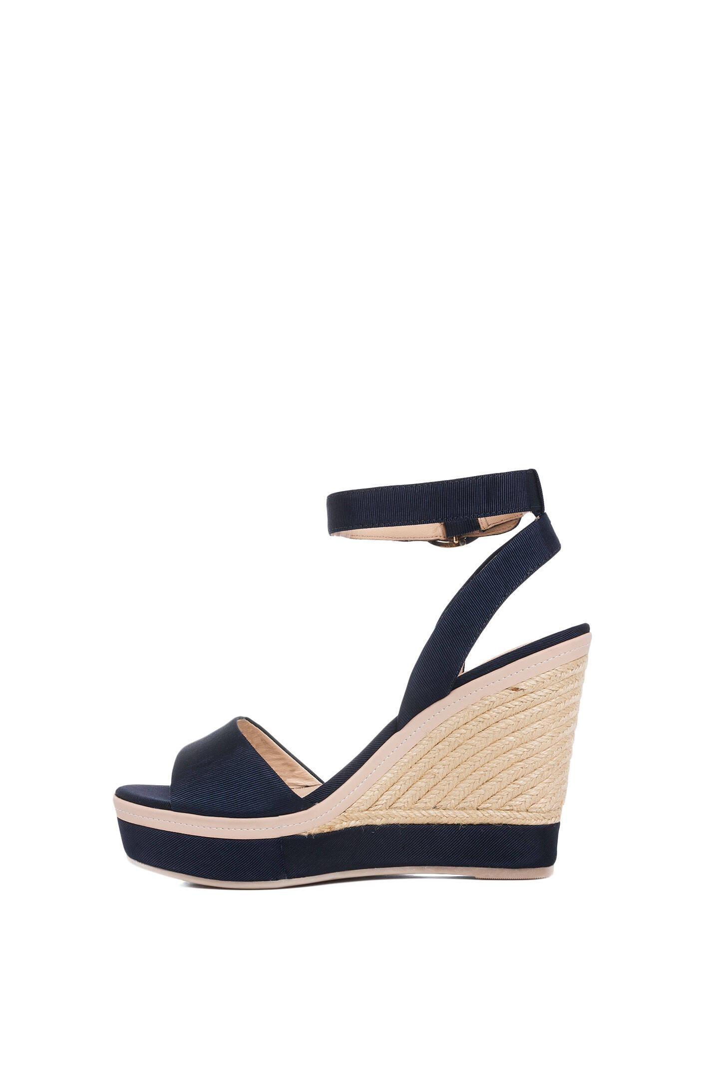 estelle wedges tommy hilfiger navy blue shoes. Black Bedroom Furniture Sets. Home Design Ideas