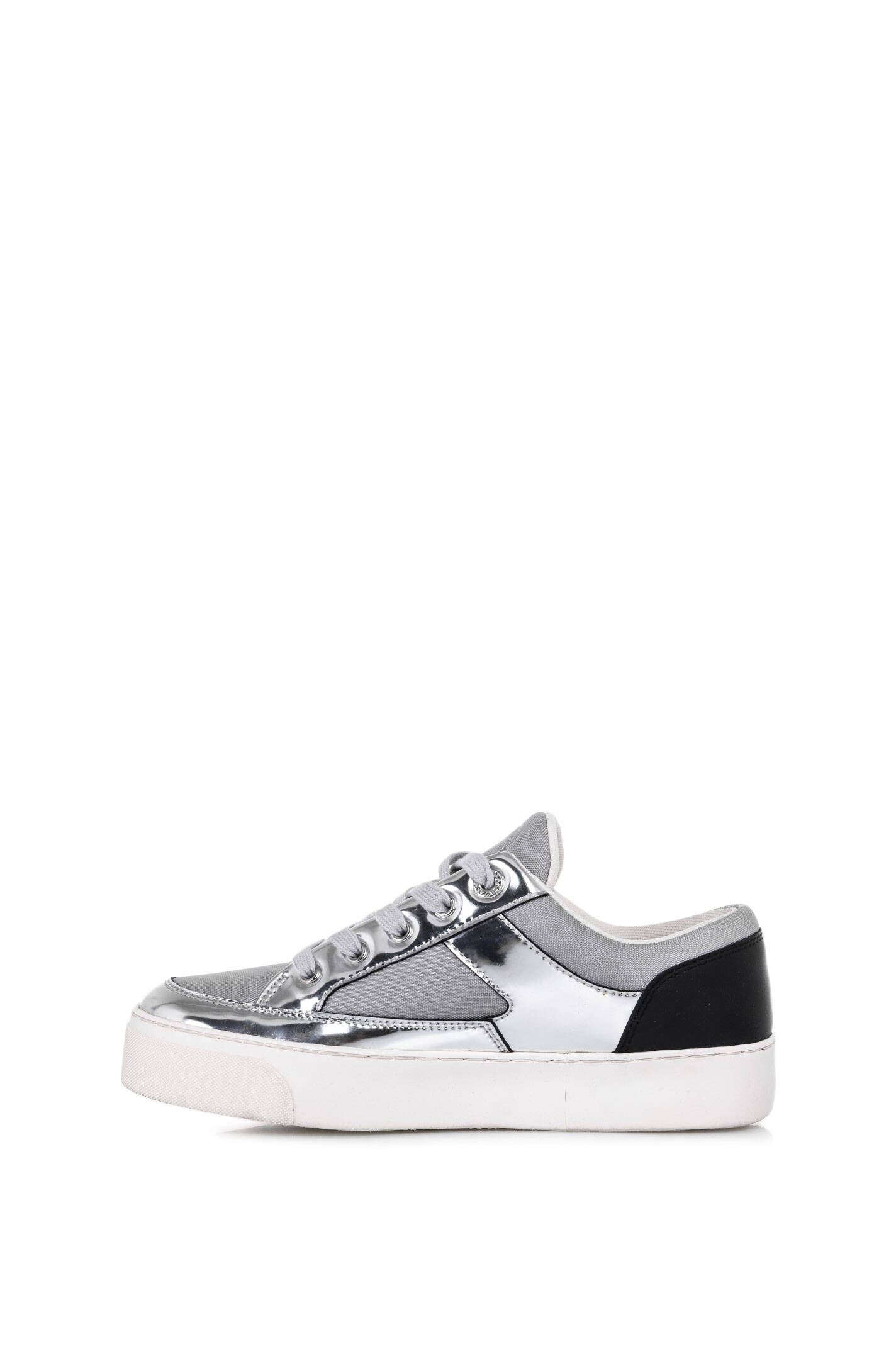 sneakers armani jeans silver sneakers. Black Bedroom Furniture Sets. Home Design Ideas