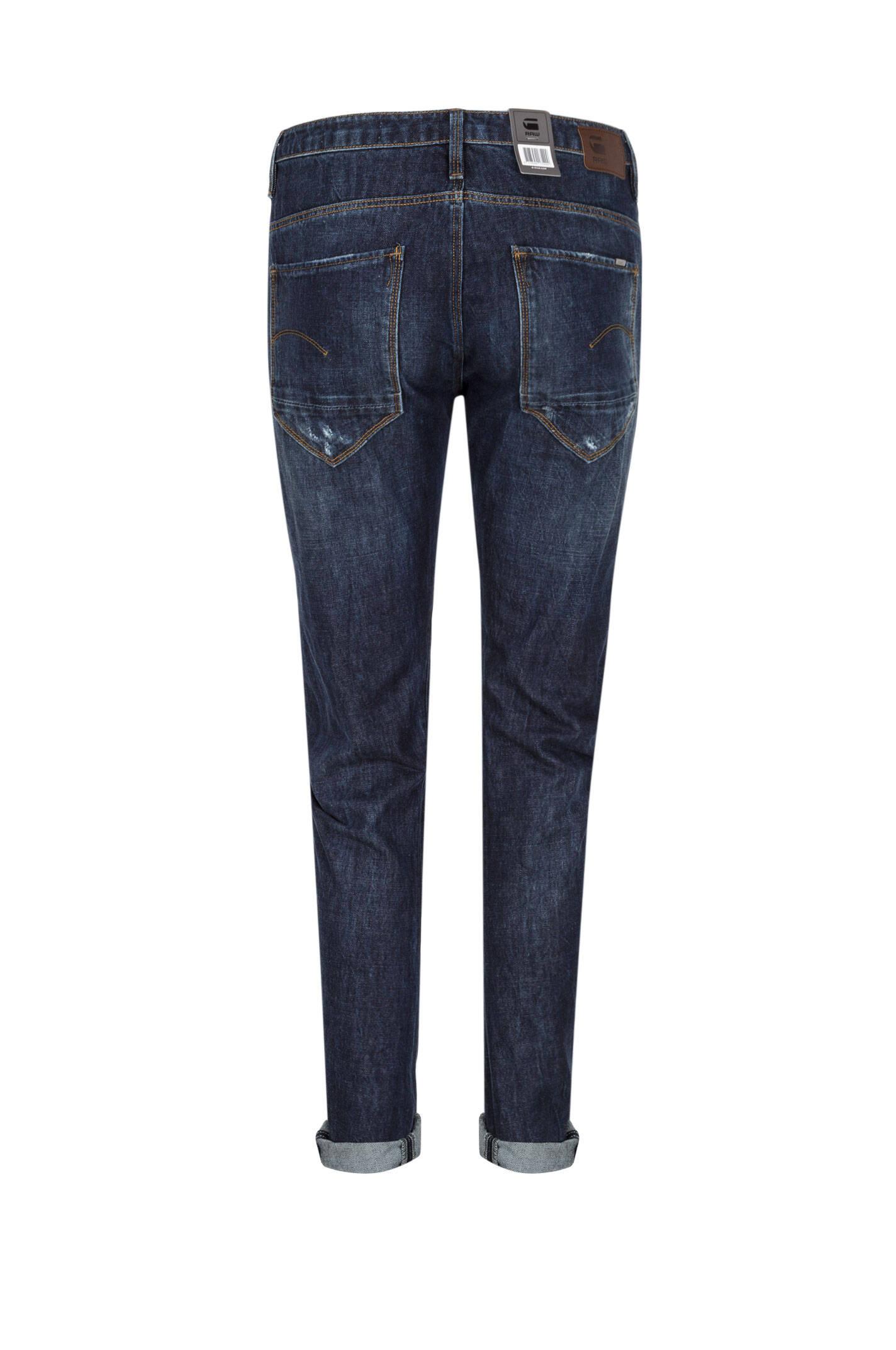 boyfriendy arc 3d g star raw granatowy jeansy spodnie. Black Bedroom Furniture Sets. Home Design Ideas