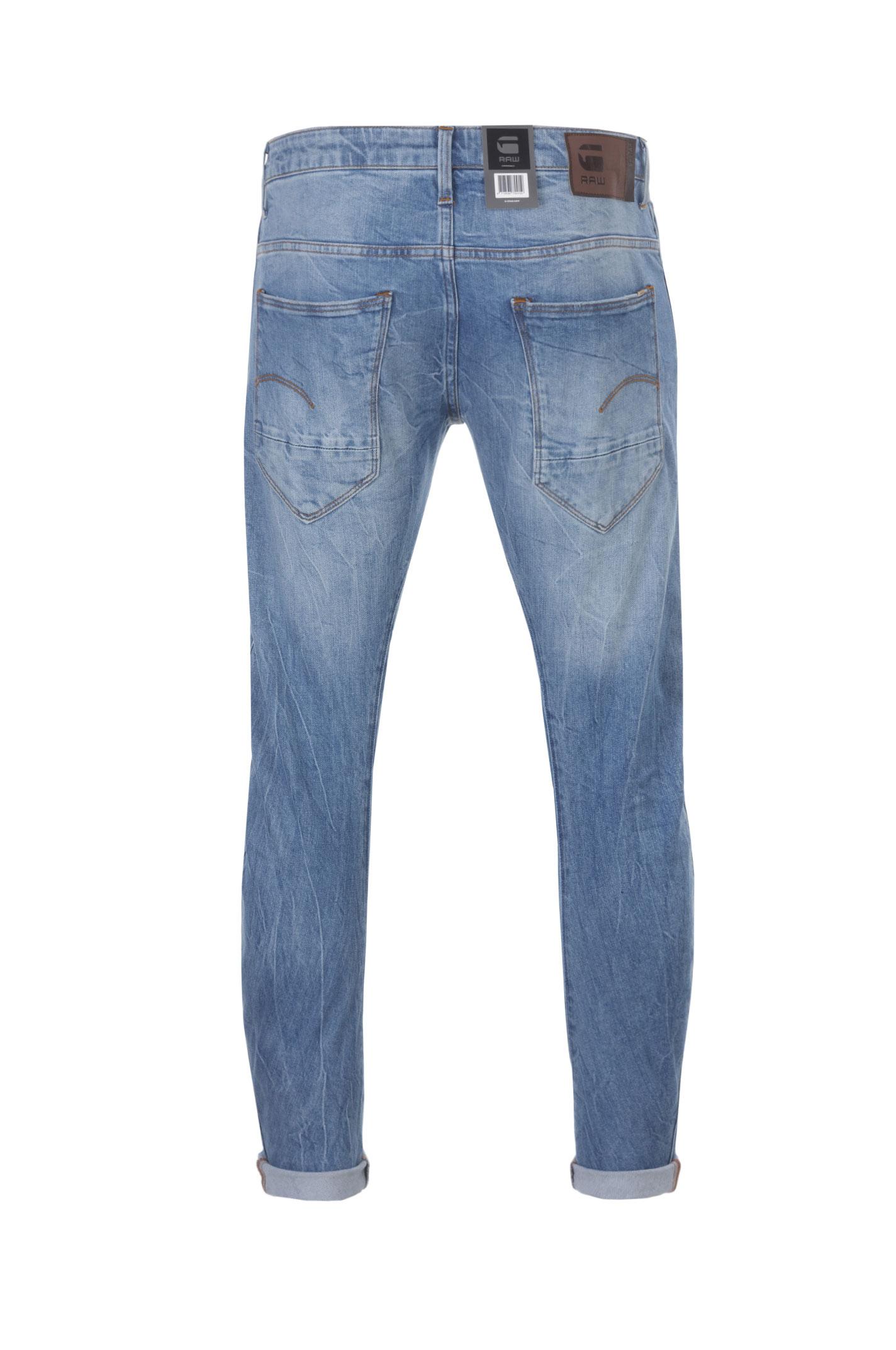 jeansy arc 3d g star raw niebieski jeansy spodnie. Black Bedroom Furniture Sets. Home Design Ideas