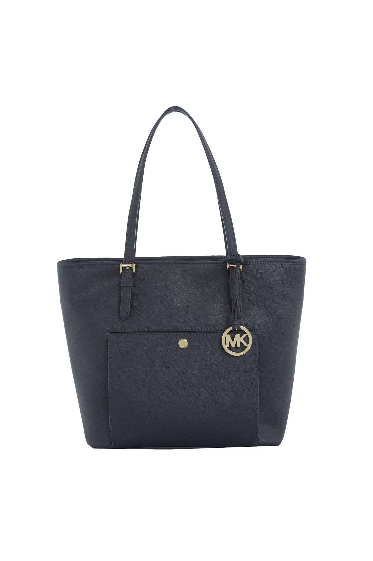 jet set item shopper bag michael kors navy blue bags. Black Bedroom Furniture Sets. Home Design Ideas