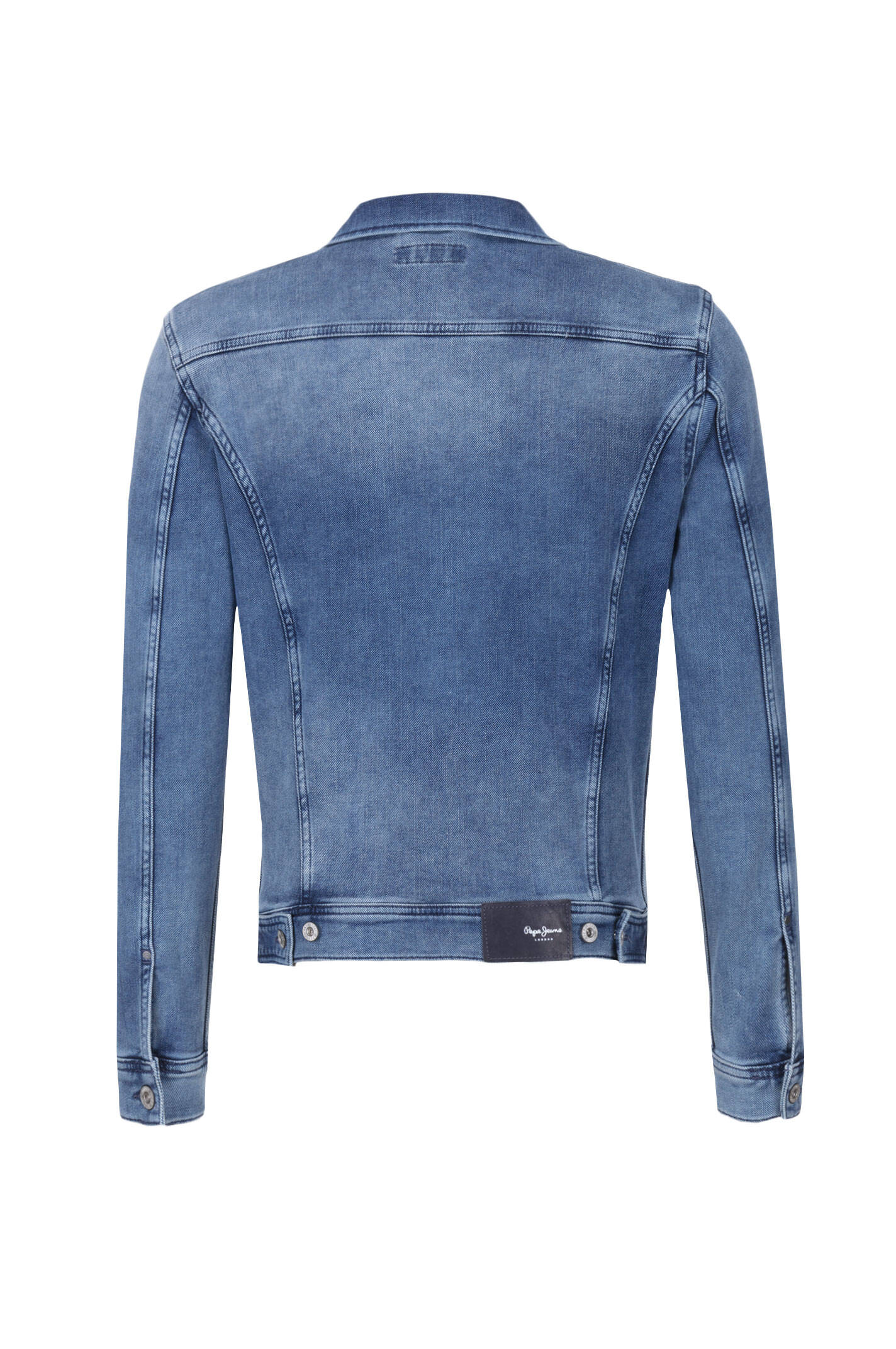 rooster denim jacket pepe jeans london blue. Black Bedroom Furniture Sets. Home Design Ideas