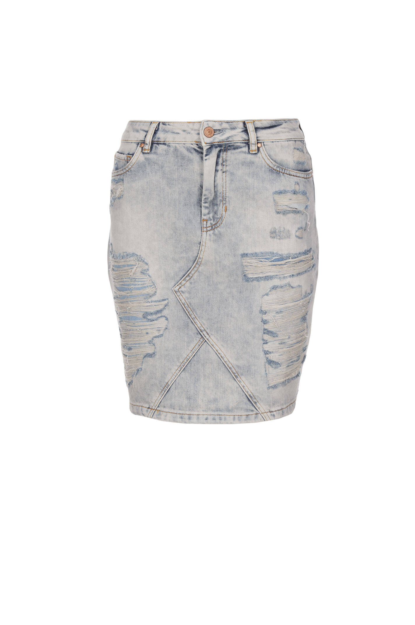 Skirt Guess Jeans Baby blue Skirts Gomez