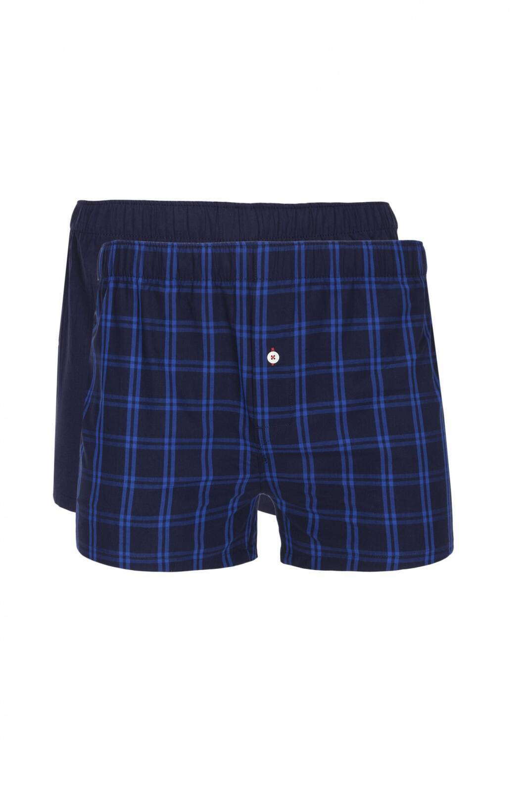 wooven boxer shorts tommy hilfiger navy blue. Black Bedroom Furniture Sets. Home Design Ideas