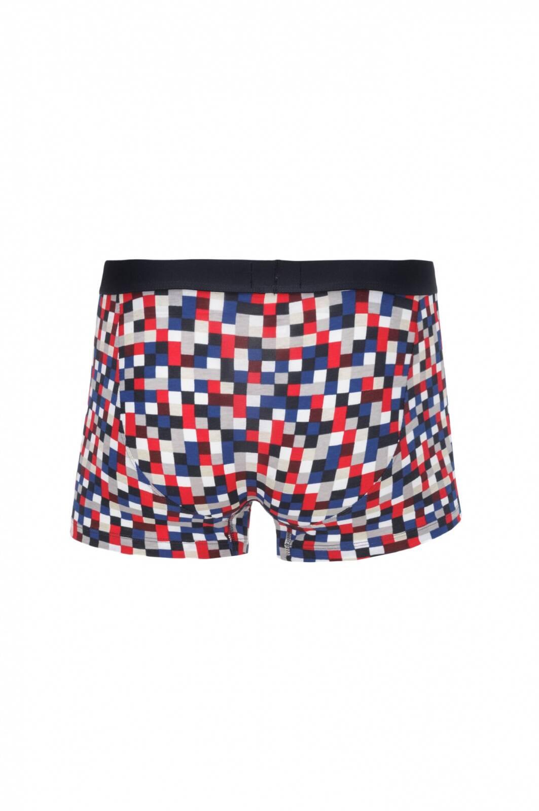 2 pack flag pixel boxer shorts tommy hilfiger navy blue. Black Bedroom Furniture Sets. Home Design Ideas