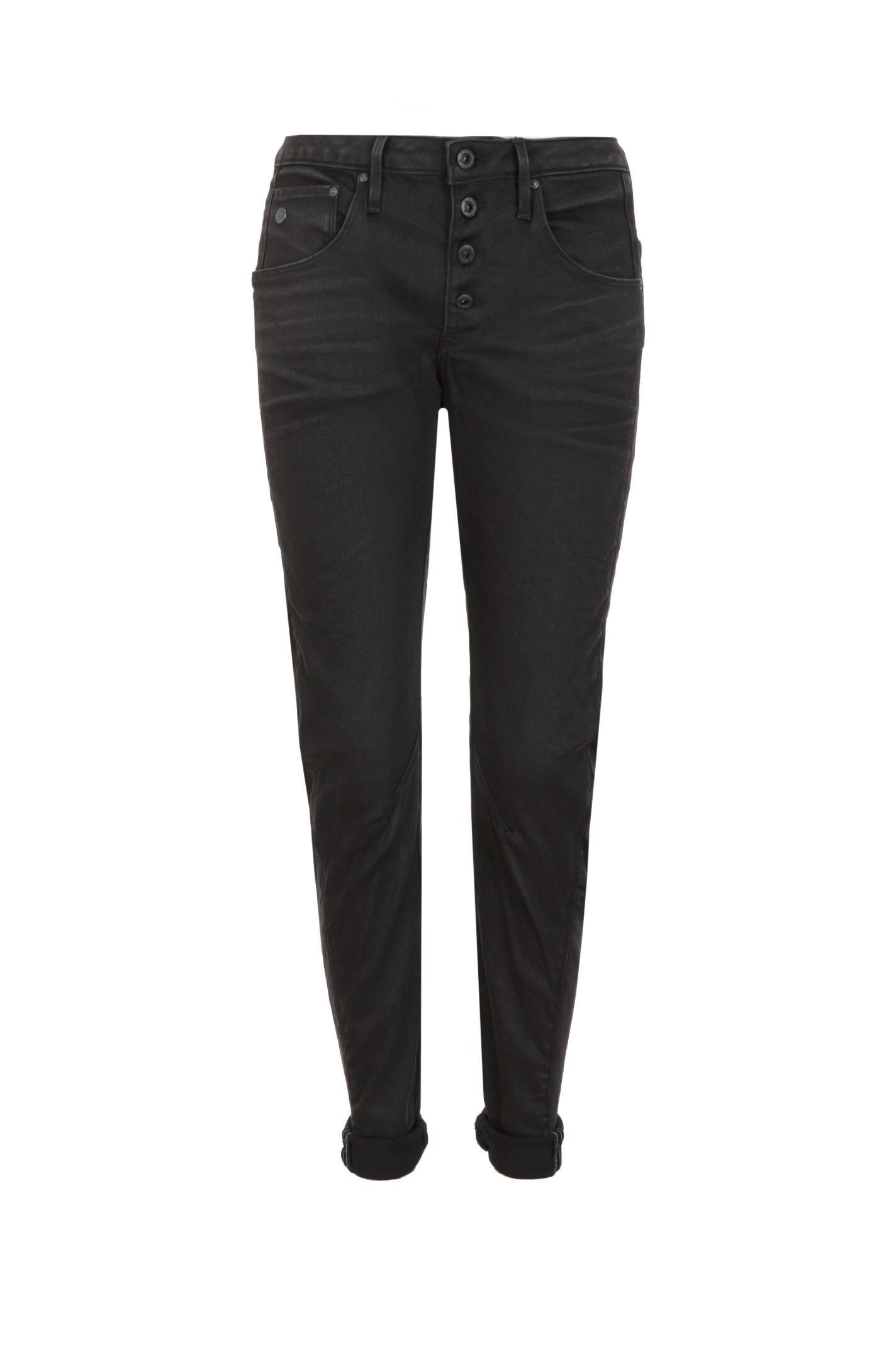 boyfriendy arc 3d g star raw czarny jeansy spodnie. Black Bedroom Furniture Sets. Home Design Ideas