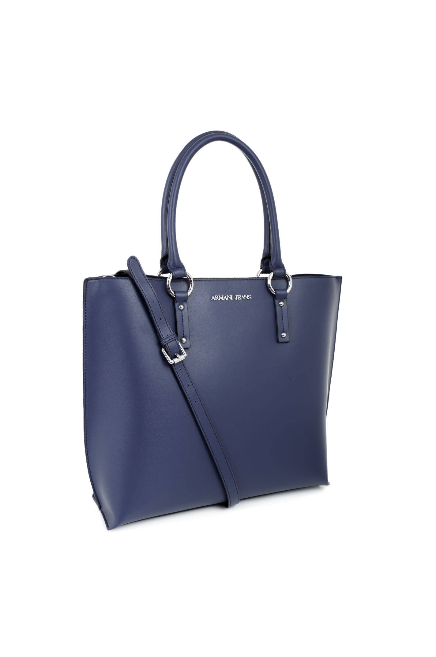 shopper bag armani jeans navy blue bags. Black Bedroom Furniture Sets. Home Design Ideas